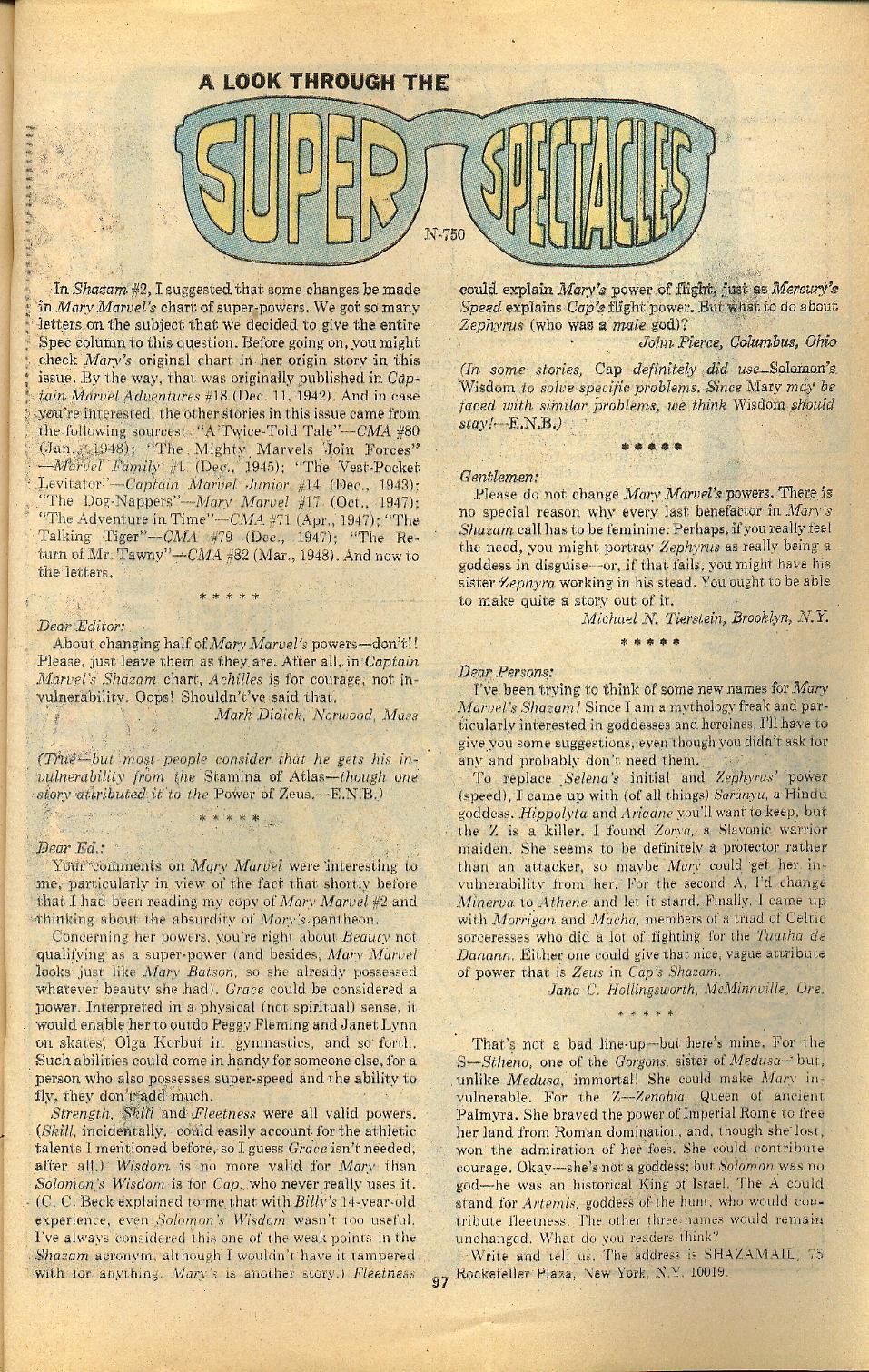Read online Shazam! (1973) comic -  Issue #8 - 97