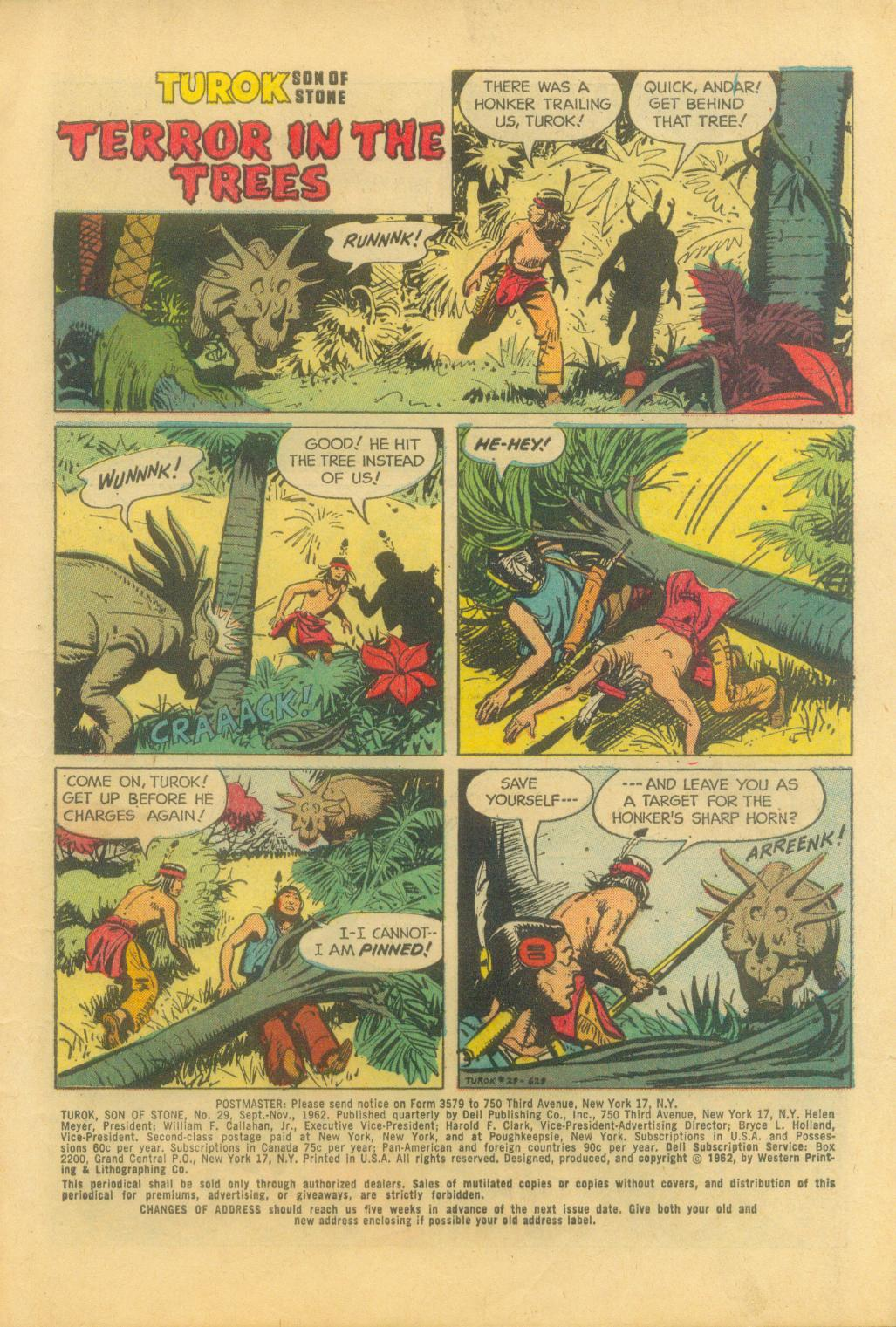 Read online Turok, Son of Stone comic -  Issue #29 - 3