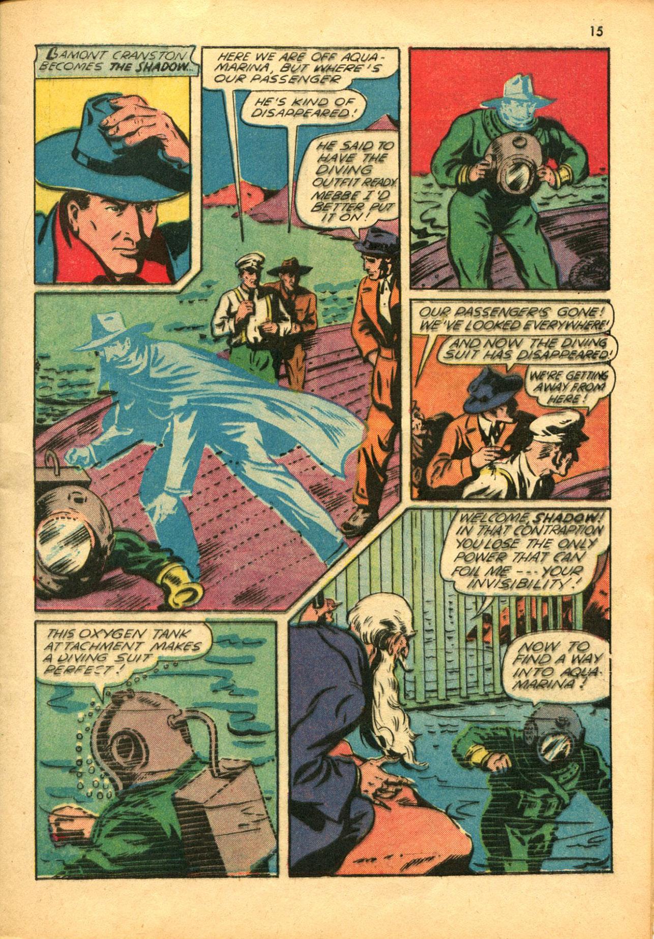 Read online Shadow Comics comic -  Issue #30 - 15