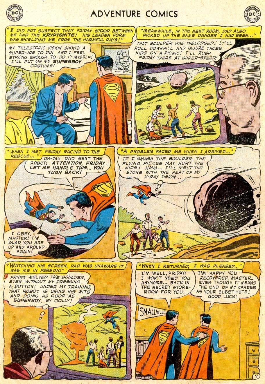 Read online Adventure Comics (1938) comic -  Issue #251 - 9