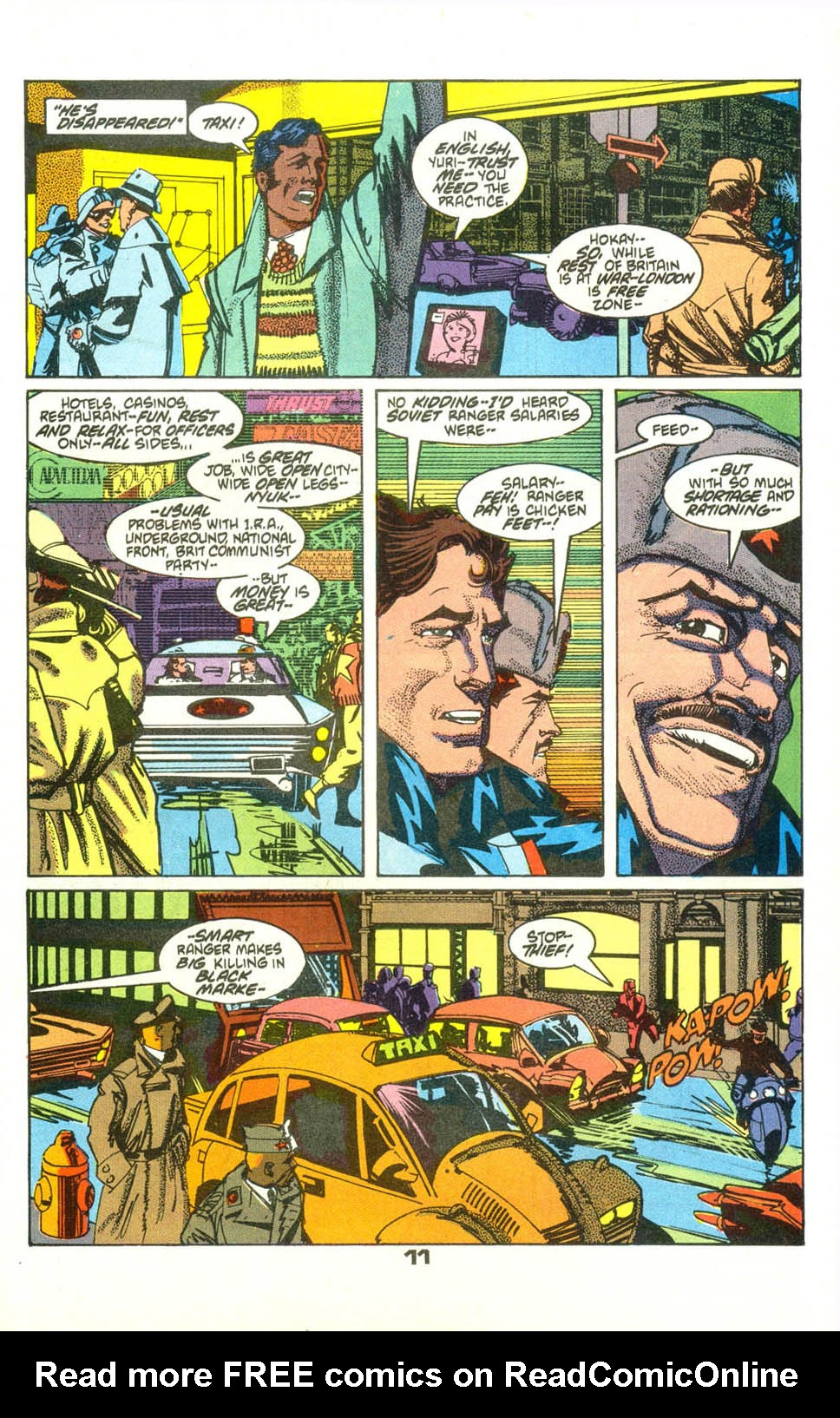Read online American Flagg! comic -  Issue #23 - 13
