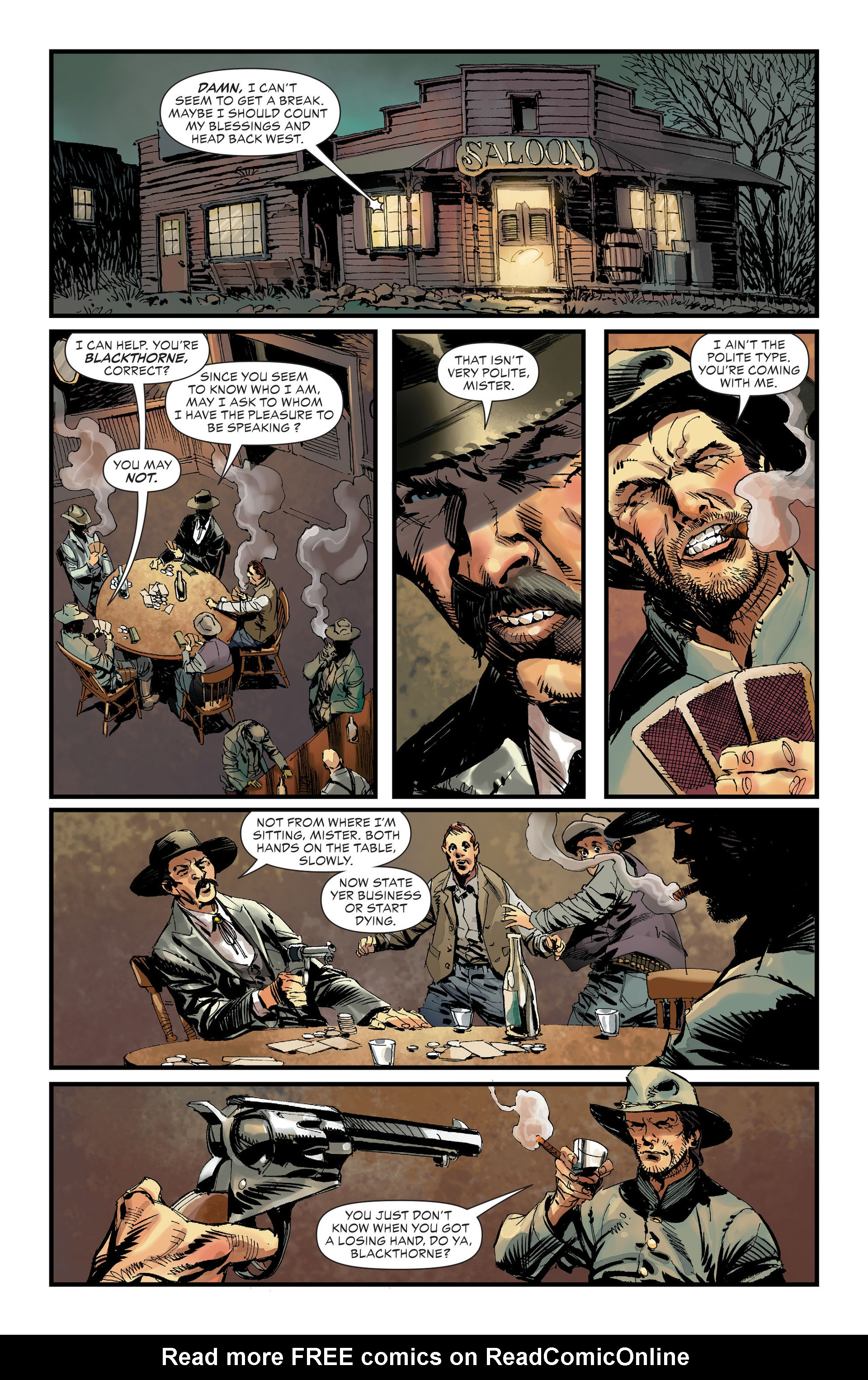Read online All-Star Western (2011) comic -  Issue #32 - 2
