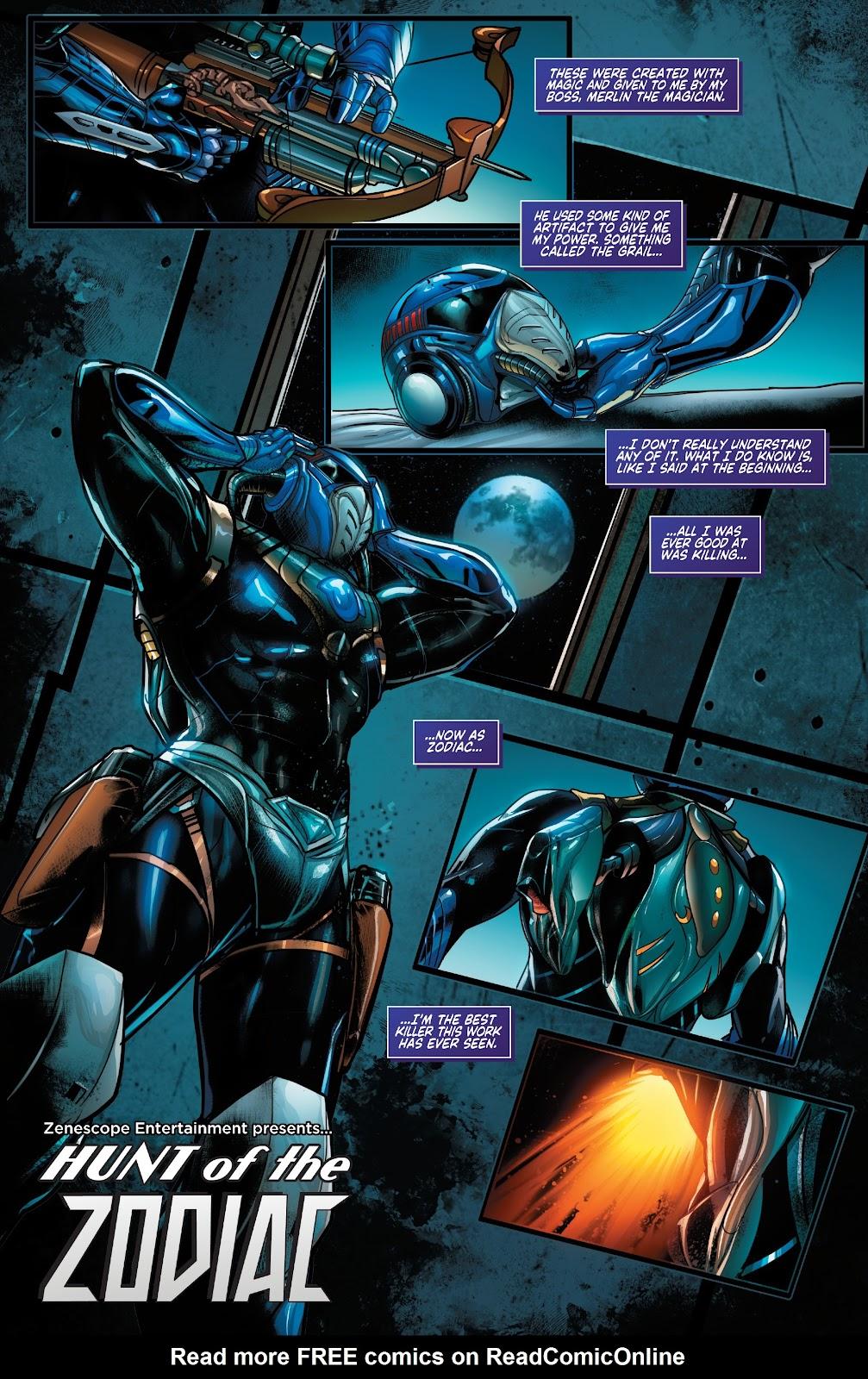 Read online Zodiac comic -  Issue #1 - 5