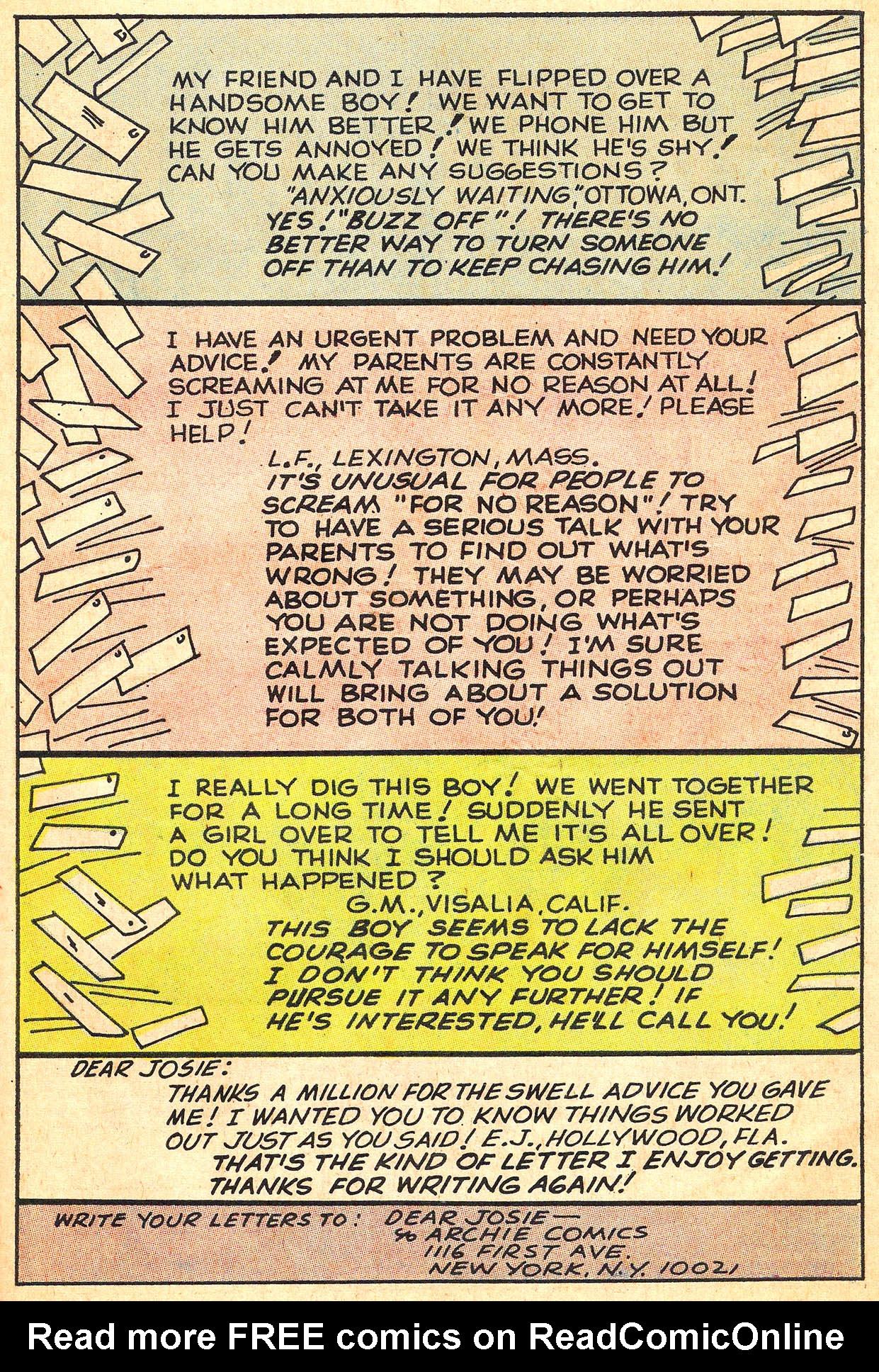 Read online She's Josie comic -  Issue #59 - 43