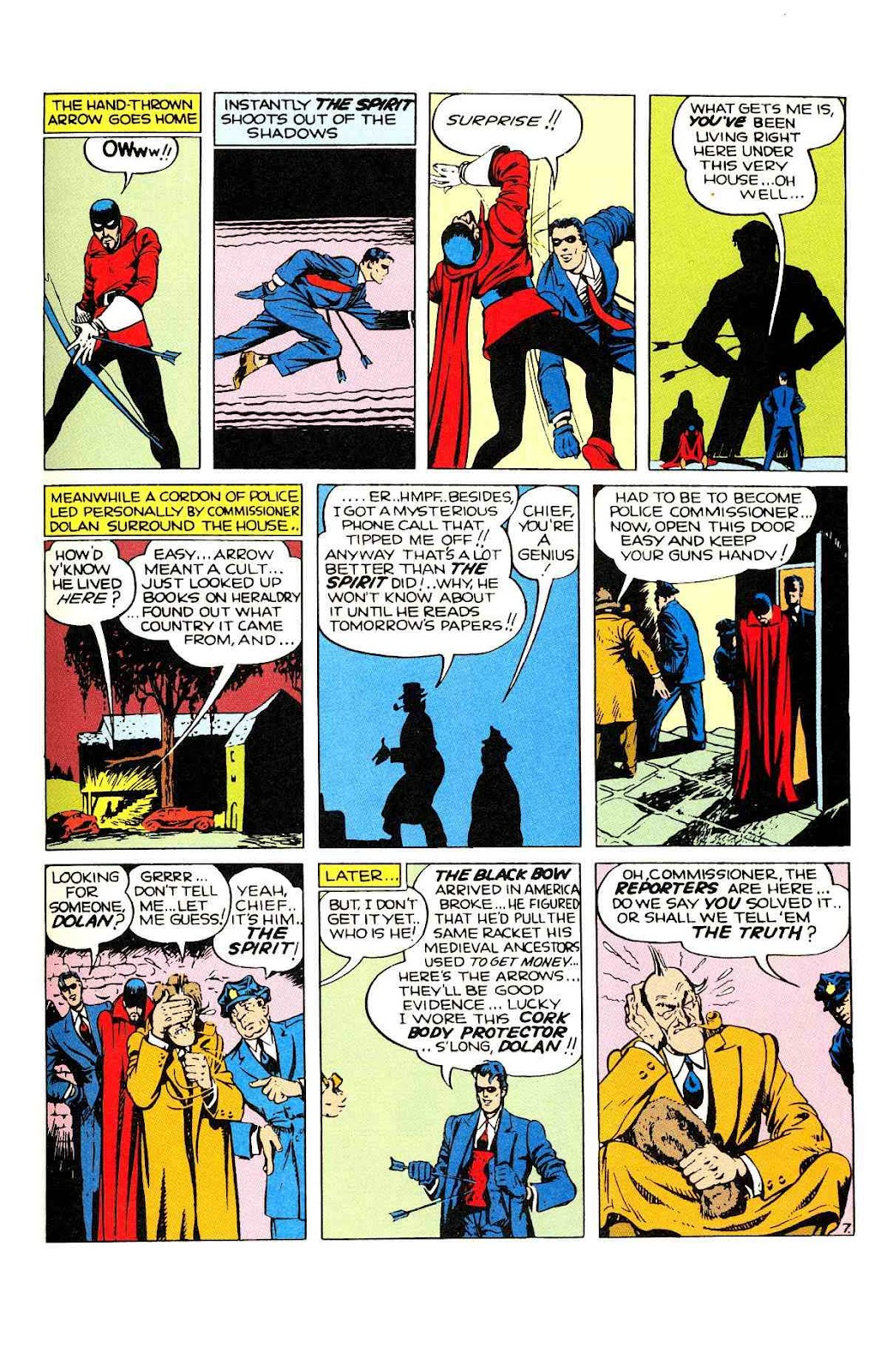 Read online Will Eisner's The Spirit Archives comic -  Issue # TPB 2 (Part 1) - 8