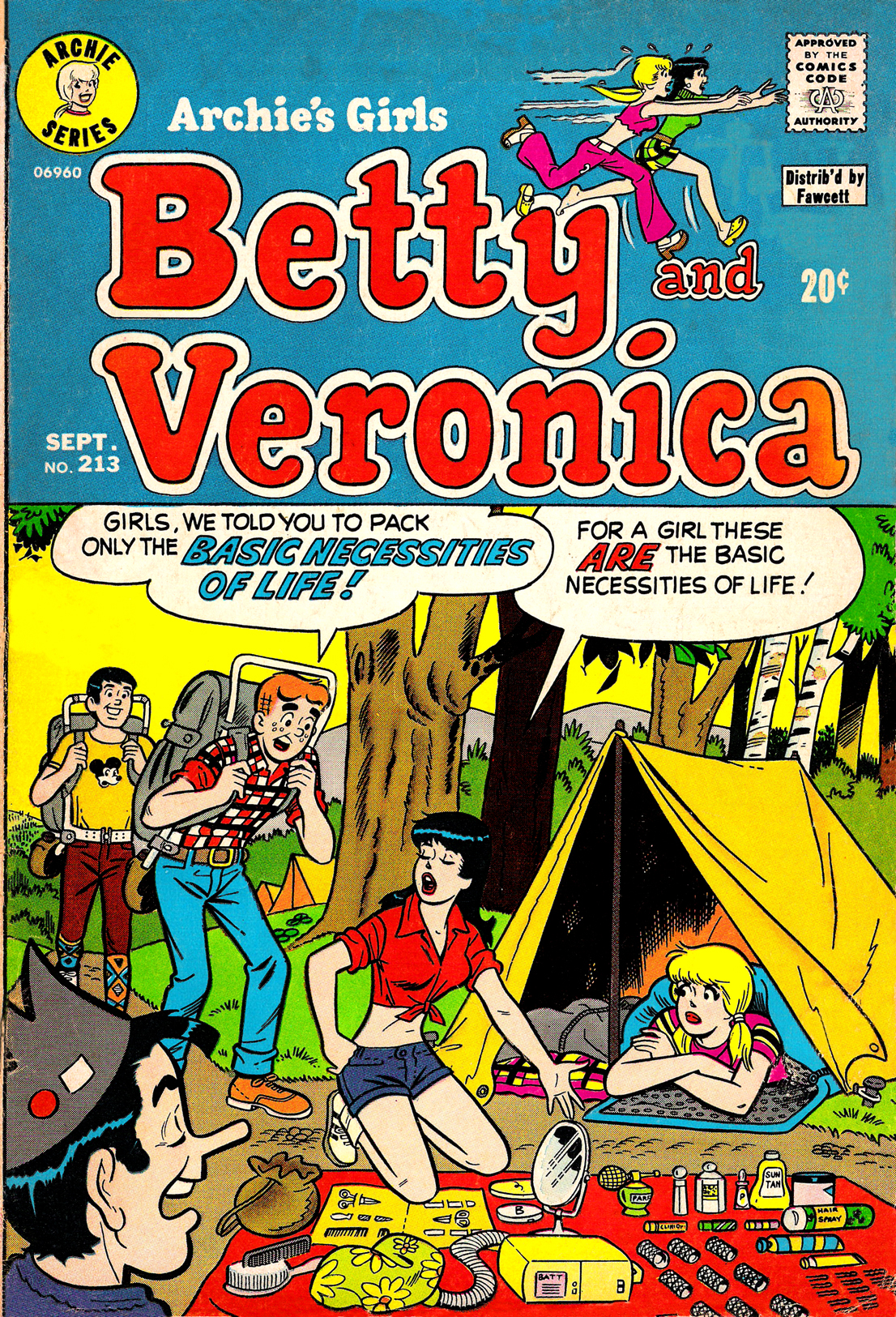 Read online Archie's Girls Betty and Veronica comic -  Issue #213 - 1