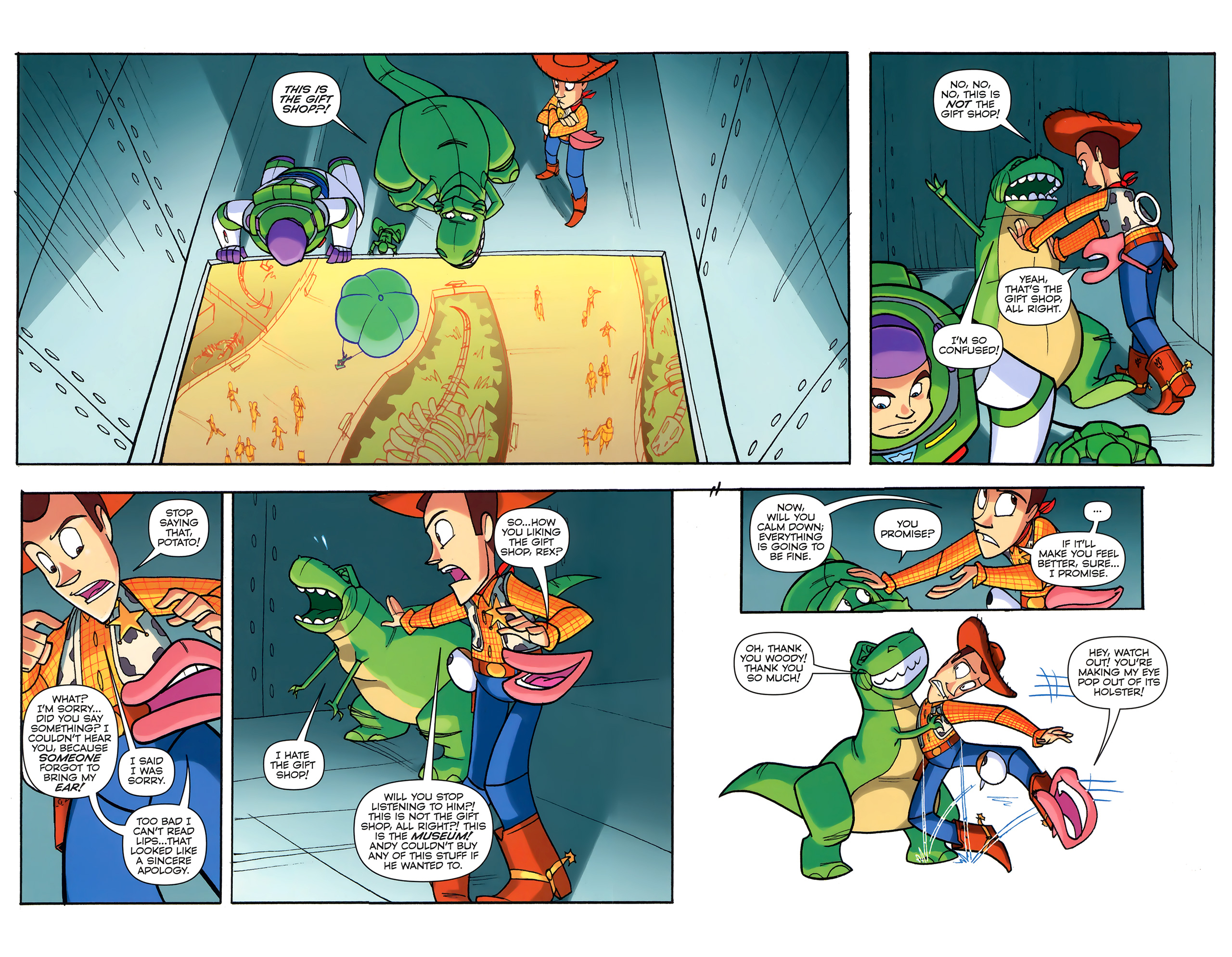 Read online Toy Story (2009) comic -  Issue #6 - 14