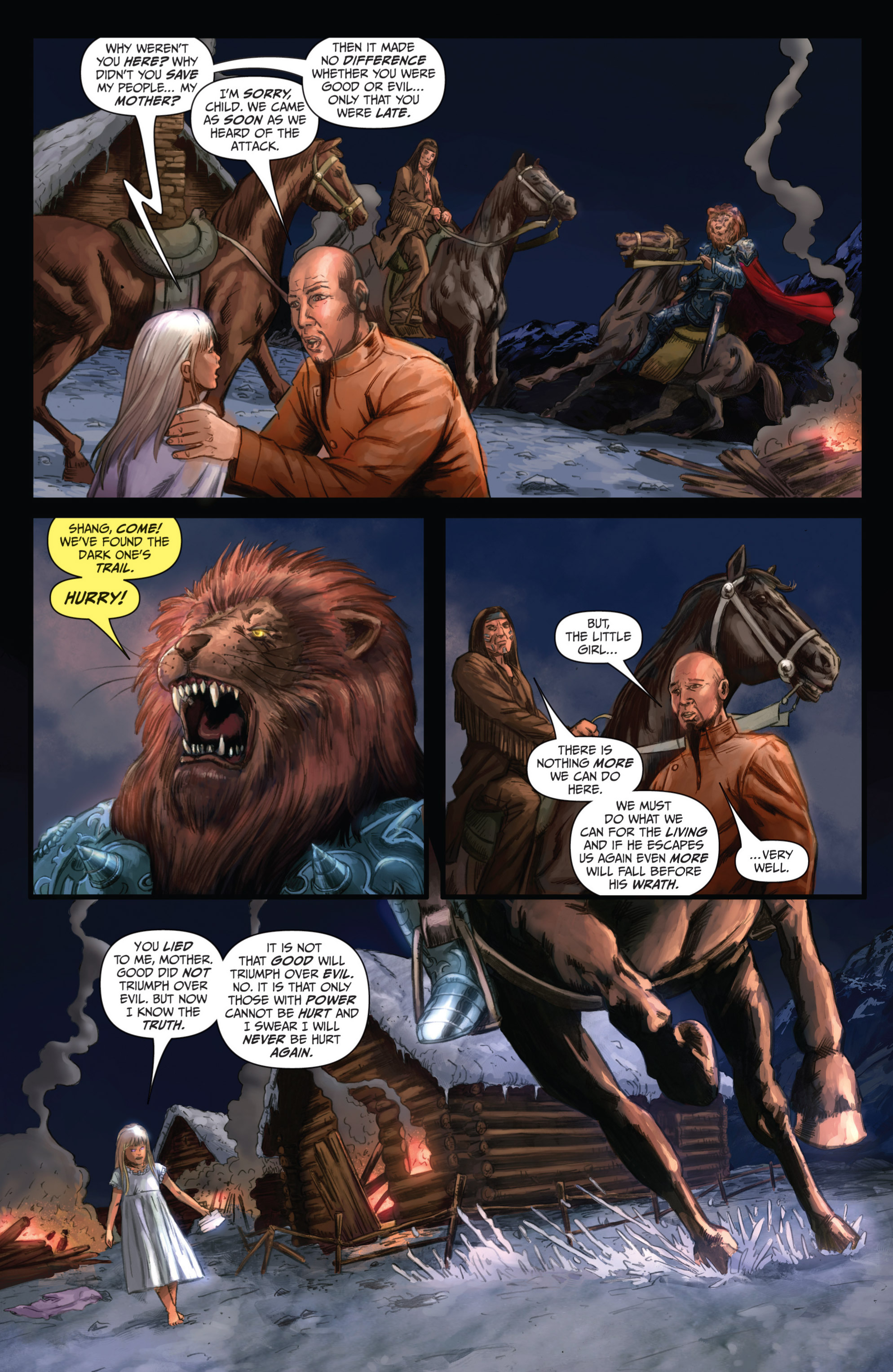 Read online Grimm Fairy Tales presents Grimm Universe comic -  Issue # TPB - 172