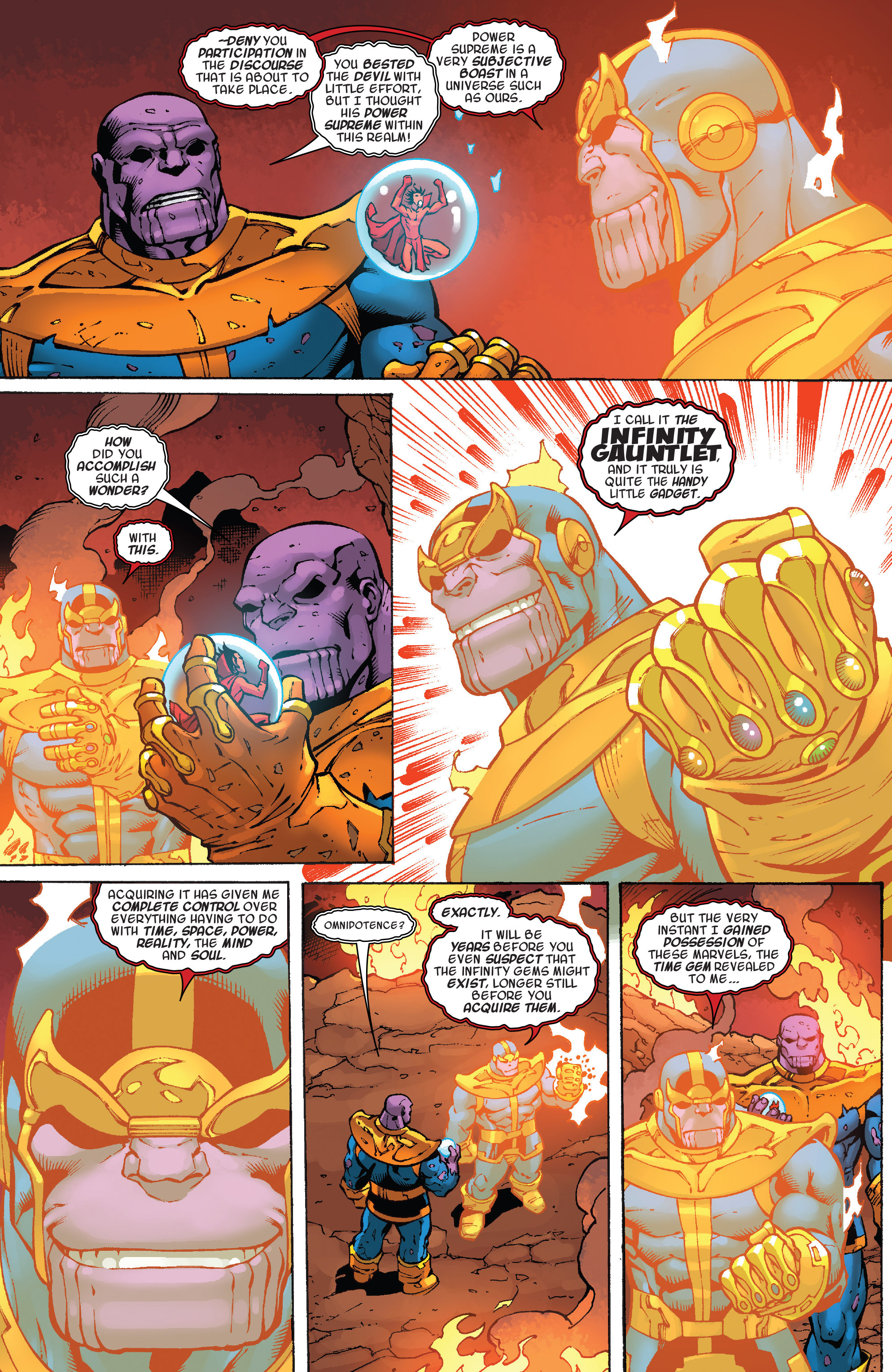 Read online Thanos Annual comic -  Issue # Annual - 13