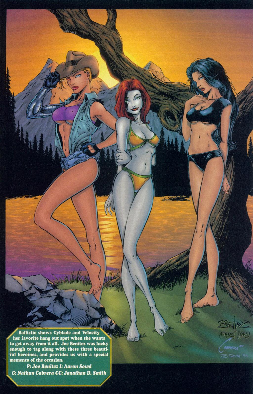 Read online Ballistic Studios Swimsuit Special comic -  Issue #1 - 7