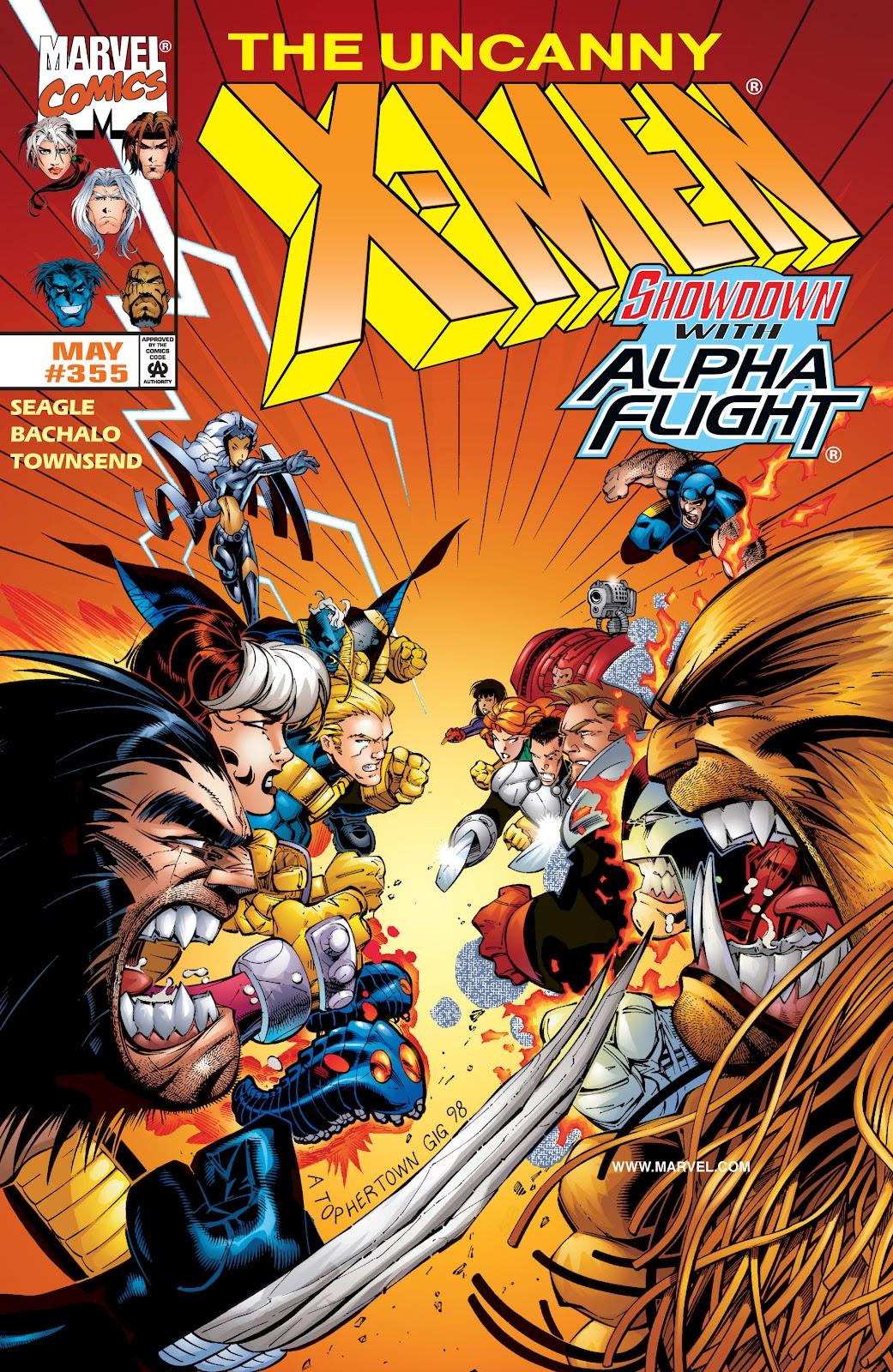 Uncanny X-Men (1963) issue 355 - Page 1