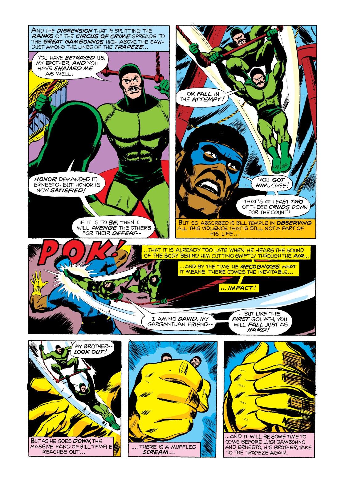 Read online Marvel Masterworks: Luke Cage, Power Man comic -  Issue # TPB 2 (Part 2) - 78