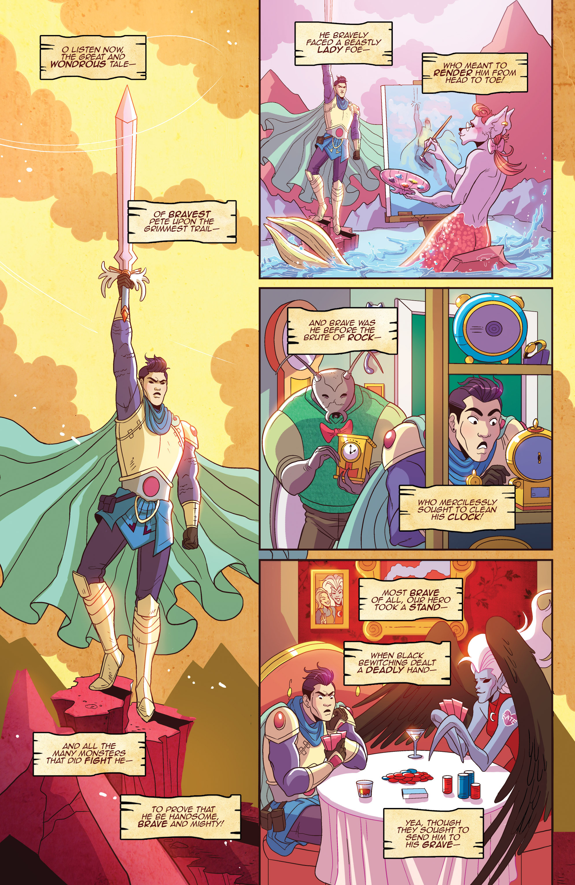 Read online Another Castle comic -  Issue #3 - 10