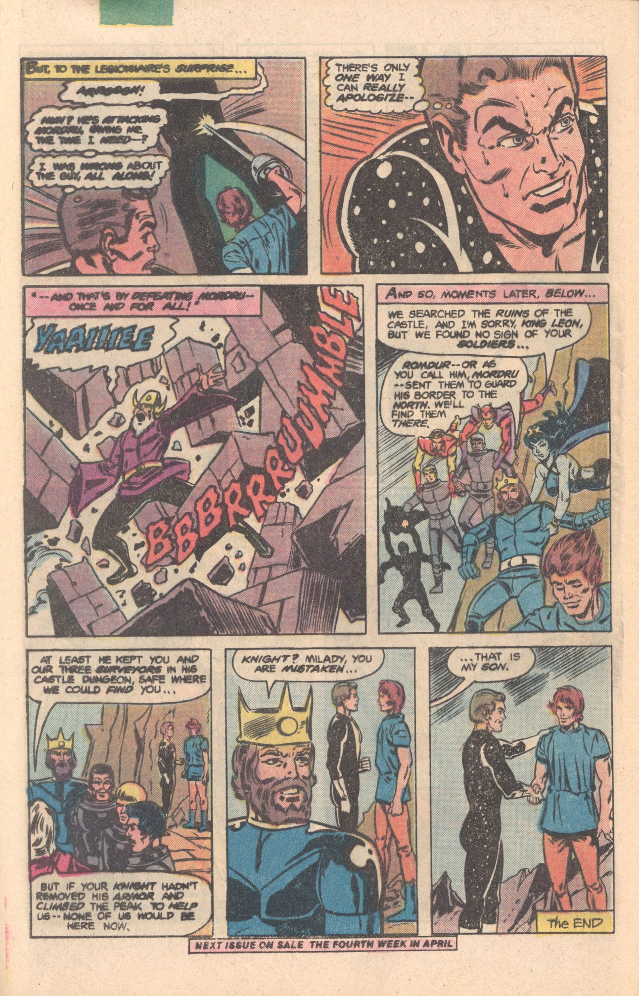 Legion of Super-Heroes (1980) 276 Page 25
