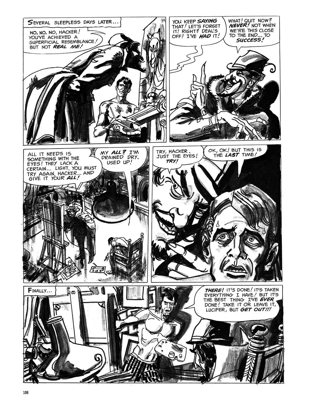 Read online Eerie Archives comic -  Issue # TPB 3 - 107
