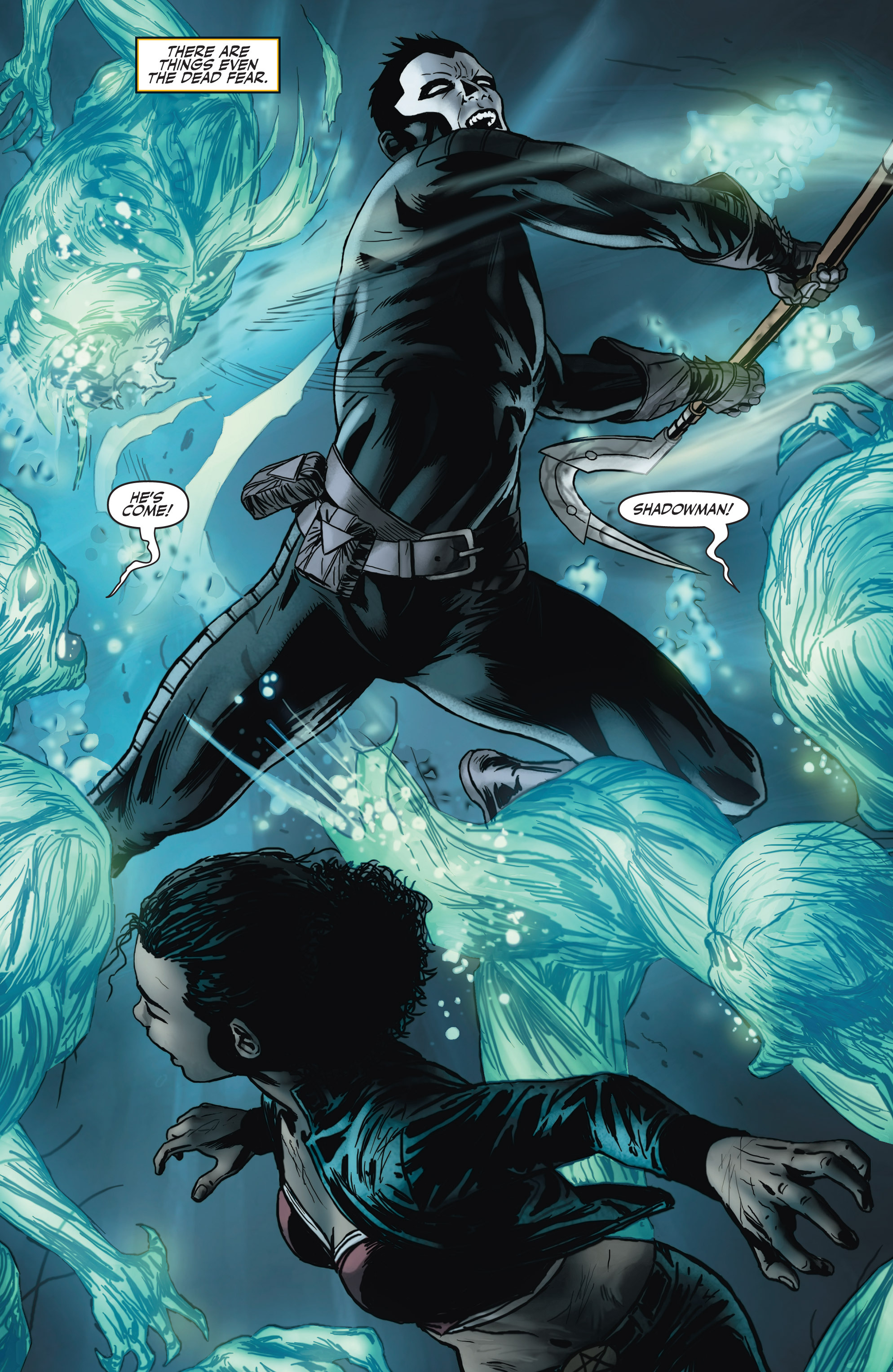 Read online Shadowman (2012) comic -  Issue #4 - 4