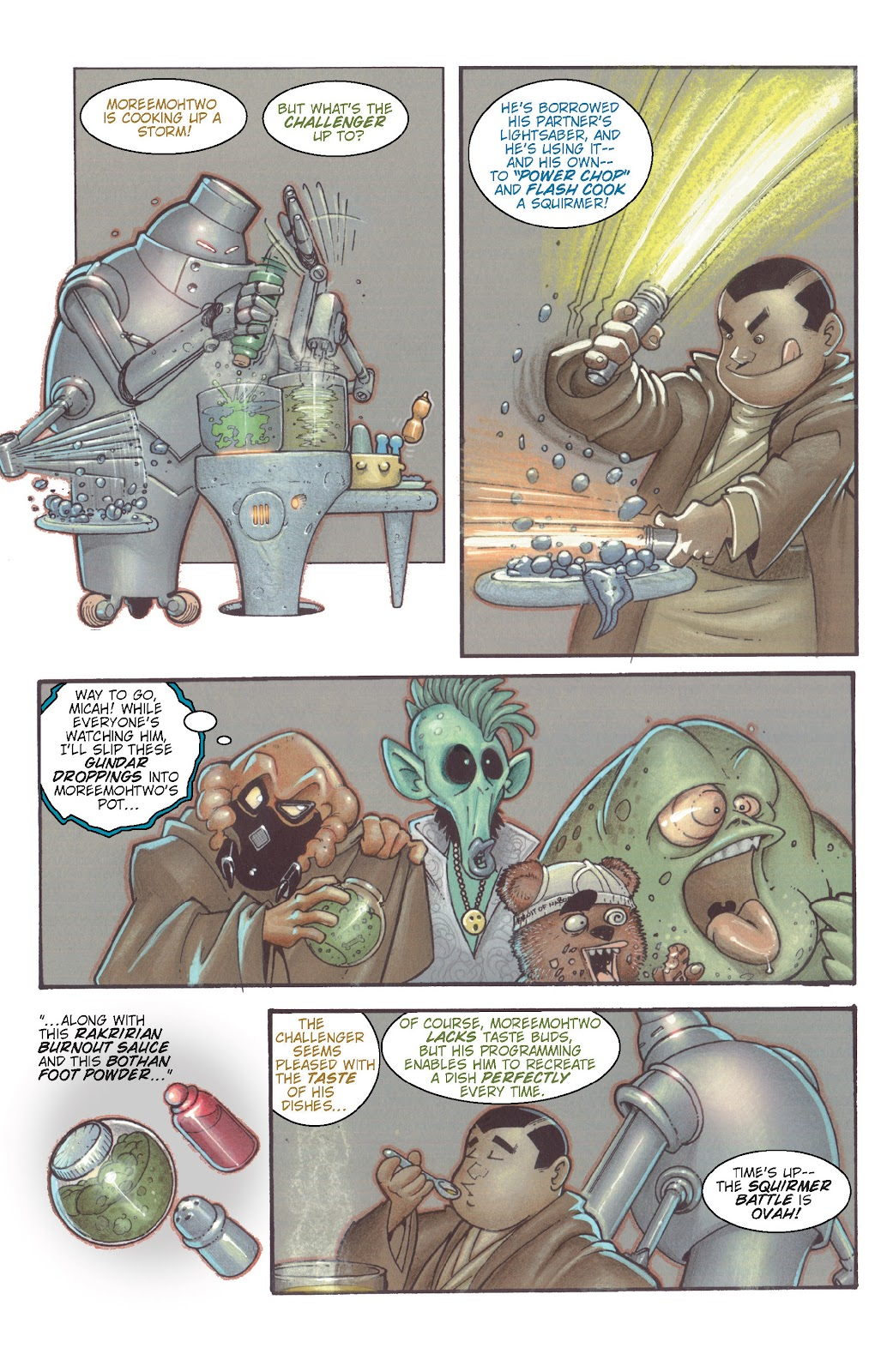 Read online Star Wars Legends: Rise of the Sith - Epic Collection comic -  Issue # TPB 1 (Part 5) - 76
