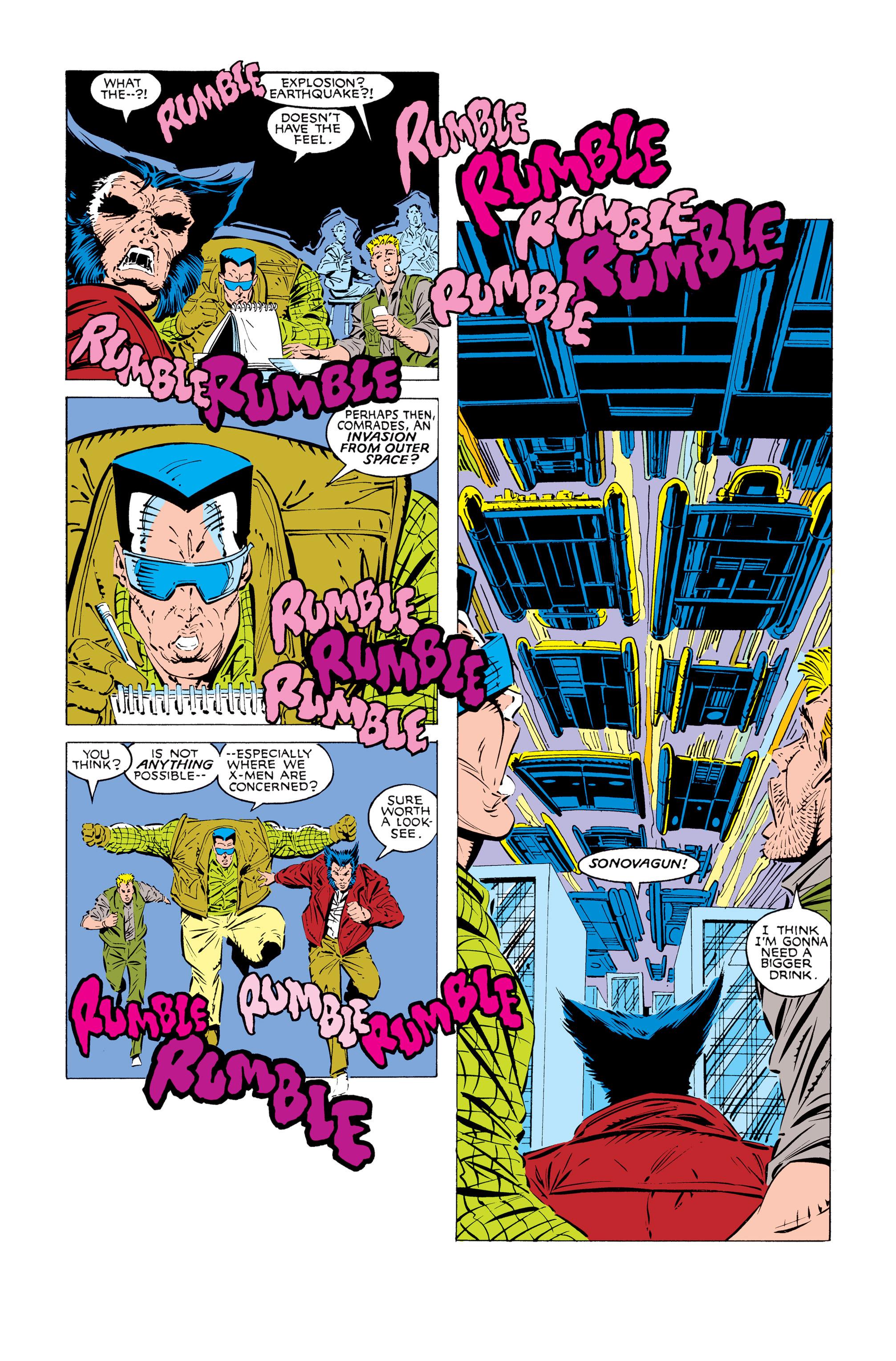 Read online Uncanny X-Men (1963) comic -  Issue #245 - 11