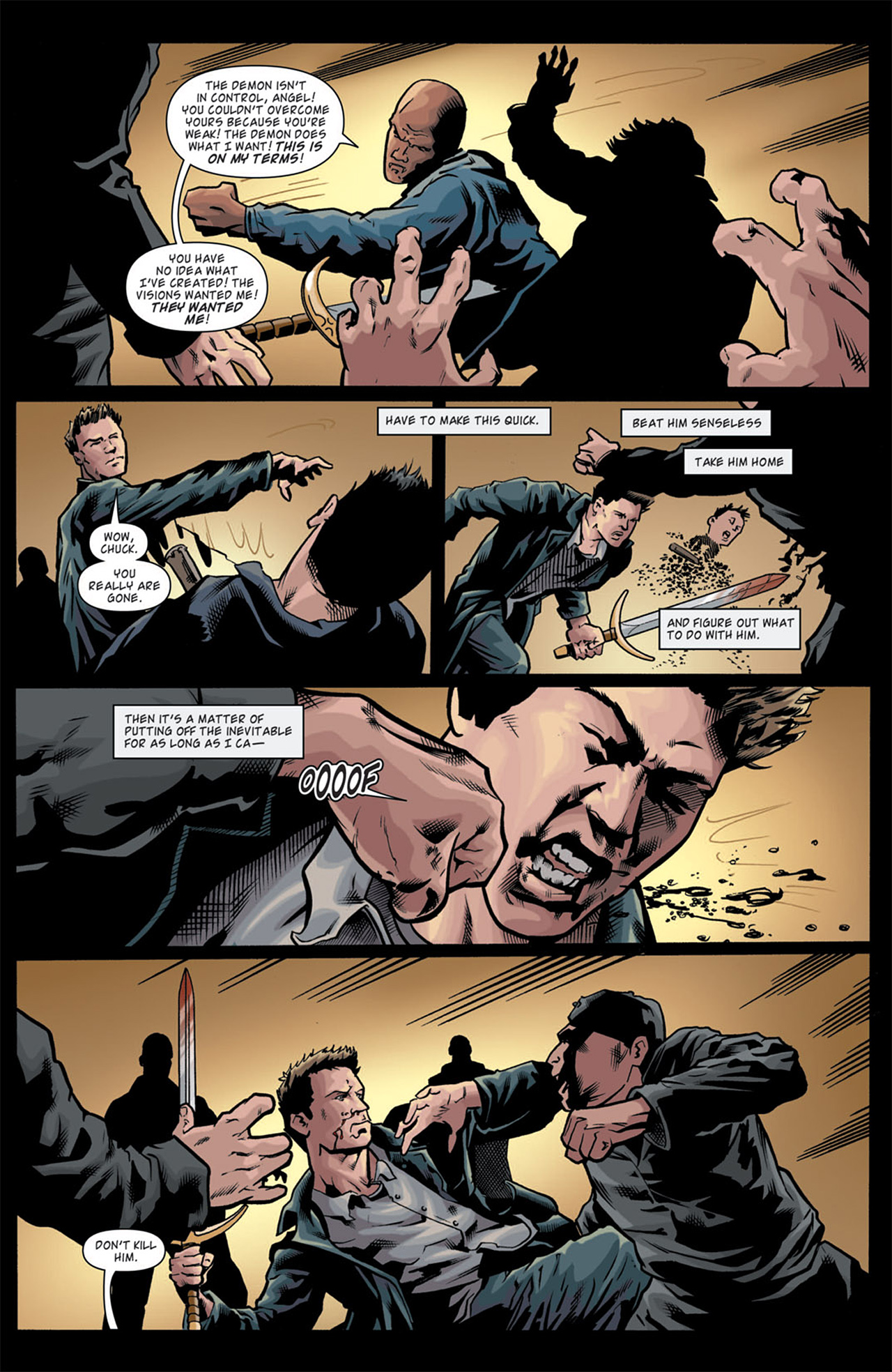 Read online Angel: After The Fall comic -  Issue #11 - 20