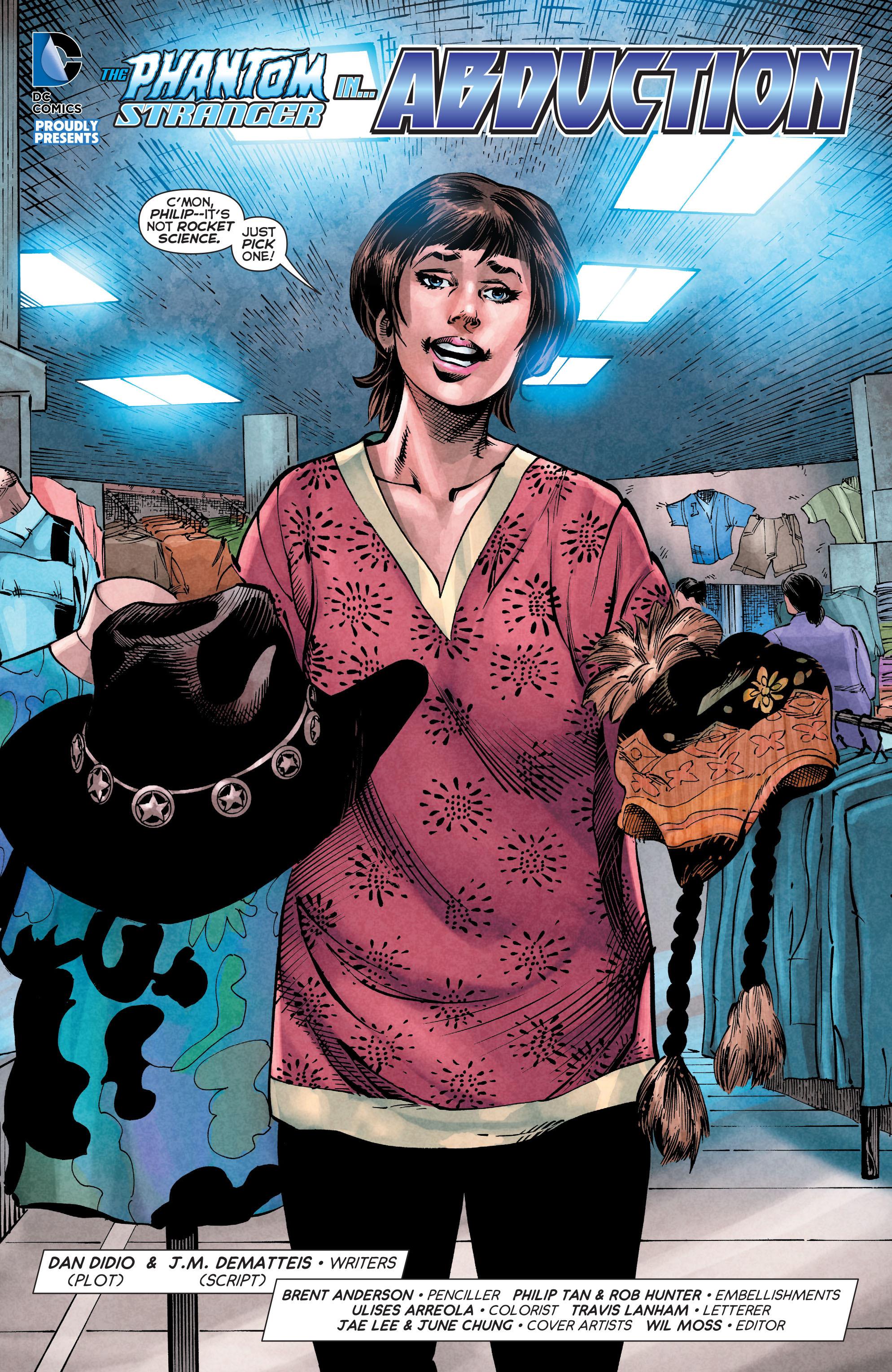 Read online Trinity of Sin: The Phantom Stranger comic -  Issue #4 - 3