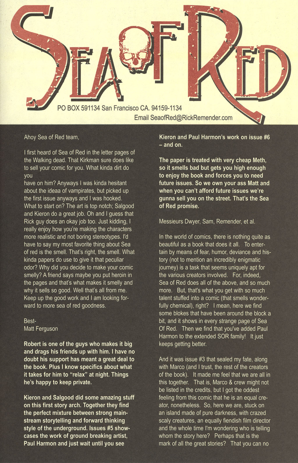 Read online Sea of Red comic -  Issue #4 - 25
