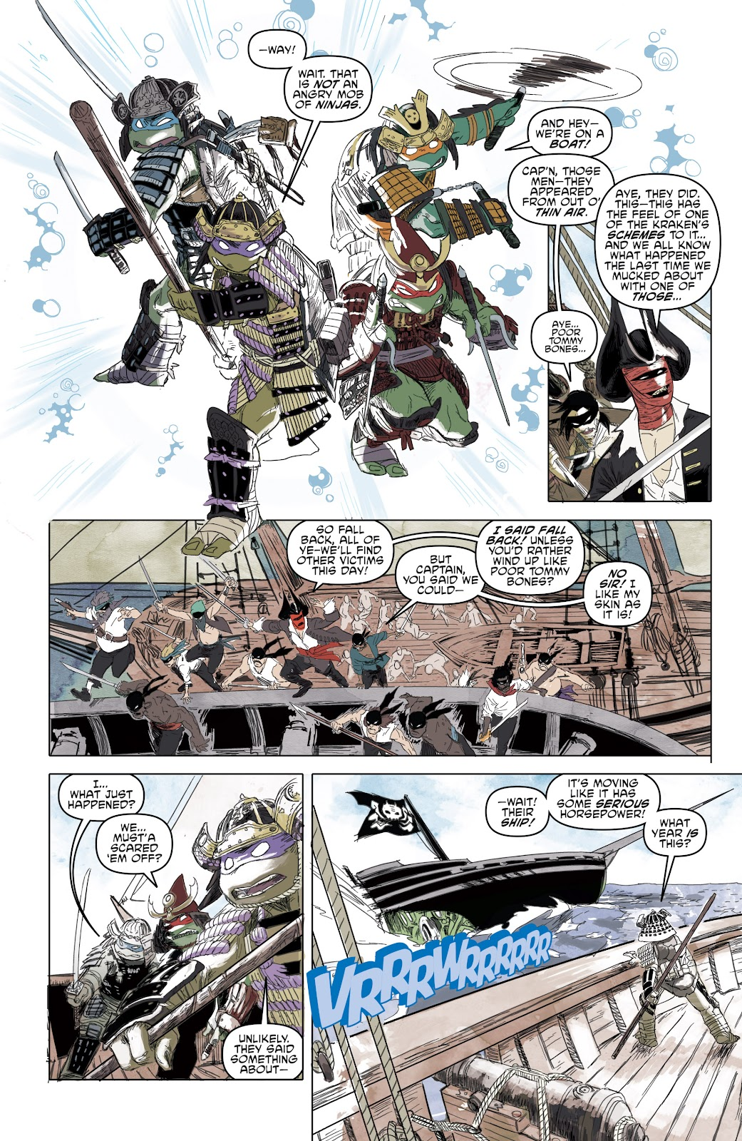 Read online Teenage Mutant Ninja Turtles: The IDW Collection comic -  Issue # TPB 5 (Part 1) - 56
