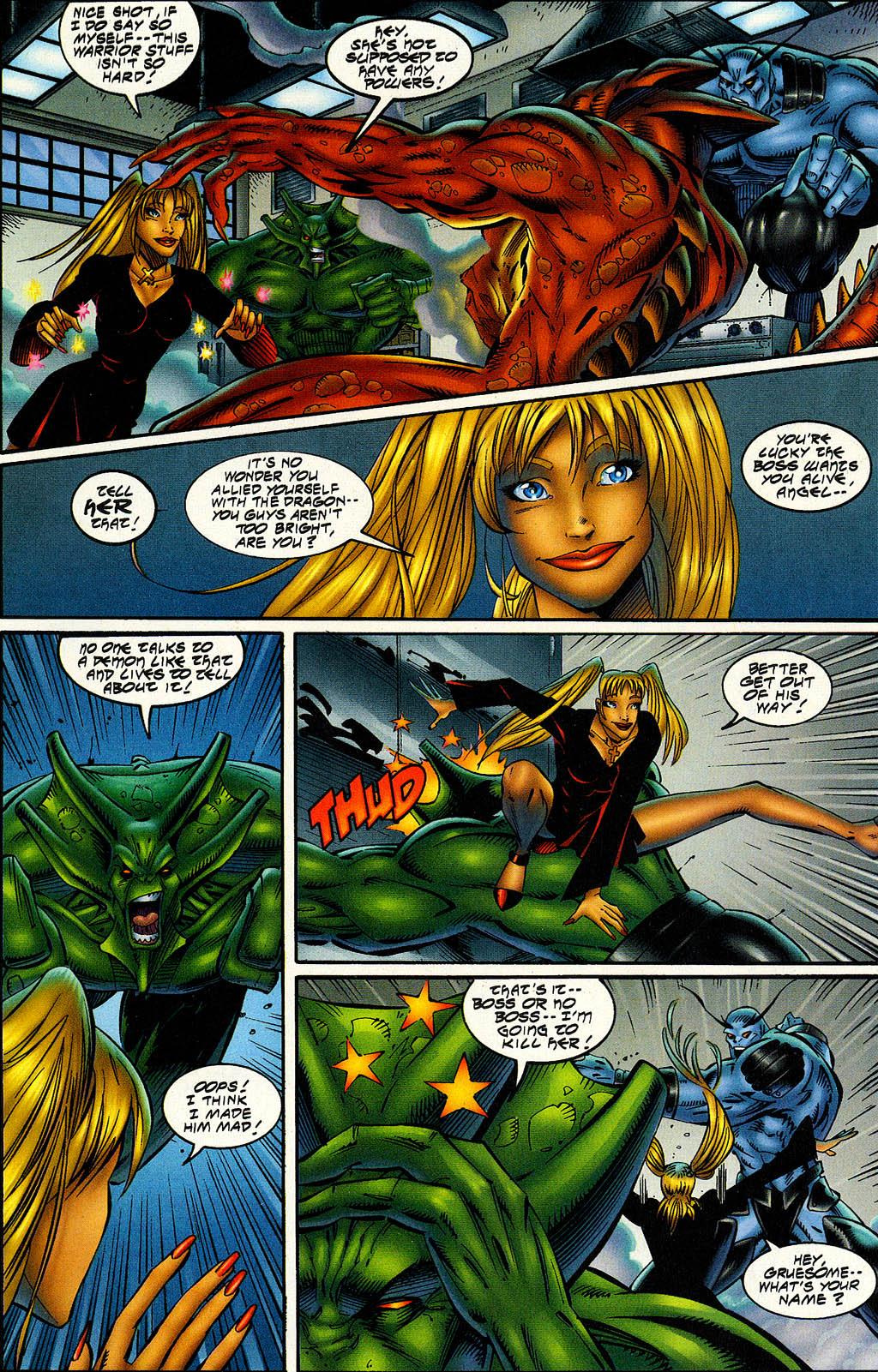 Read online Avengelyne (1996) comic -  Issue #6 - 21