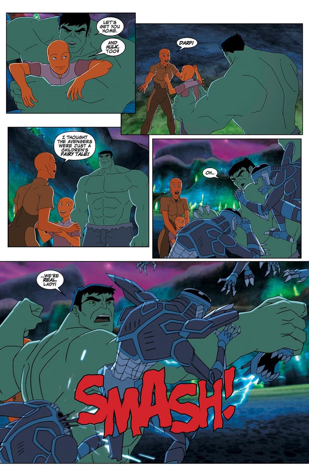 Read online Marvel Universe Avengers Assemble Season 2 comic -  Issue #15 - 8