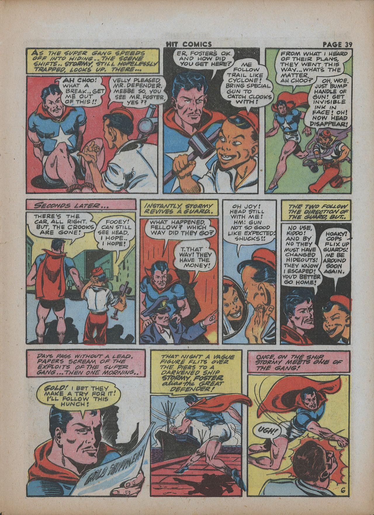 Read online Hit Comics comic -  Issue #26 - 40