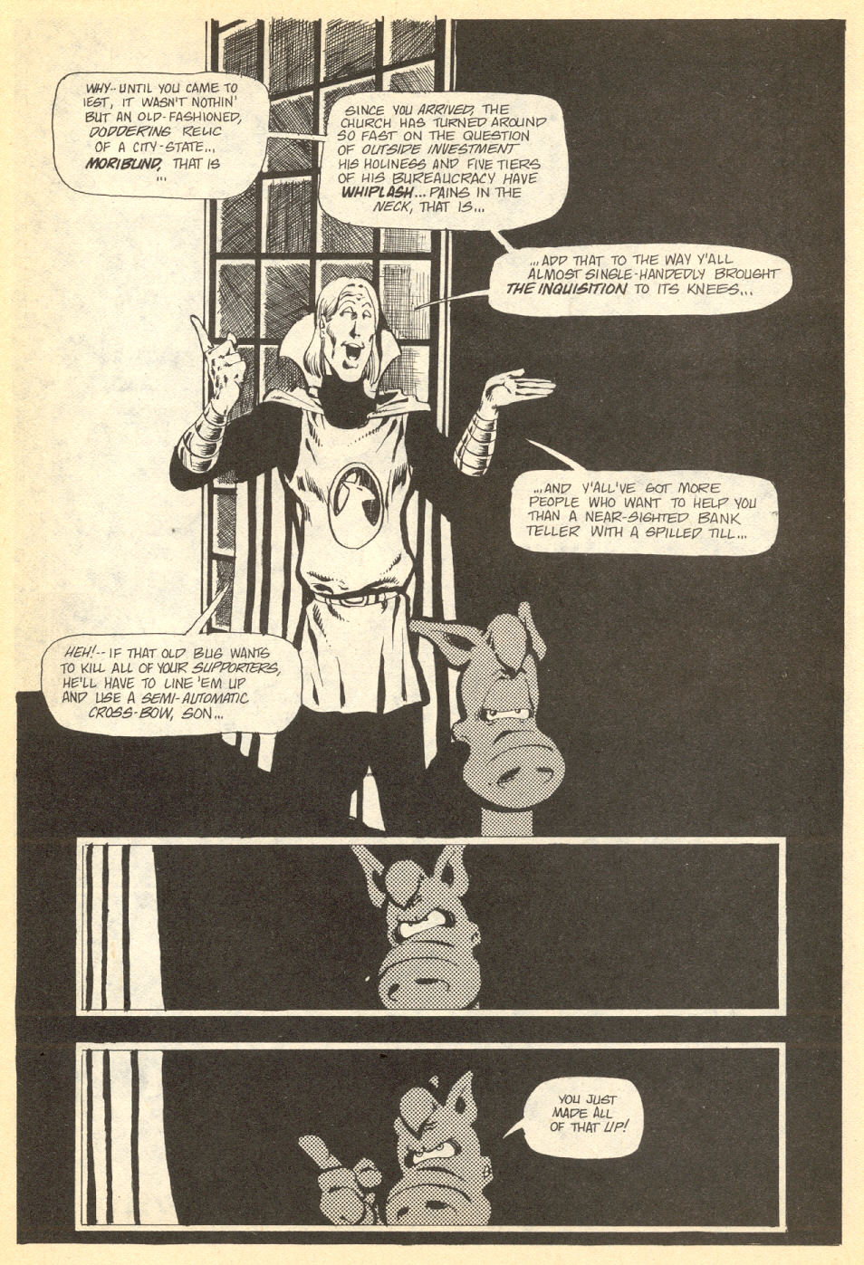 Cerebus Issue #34 #34 - English 12