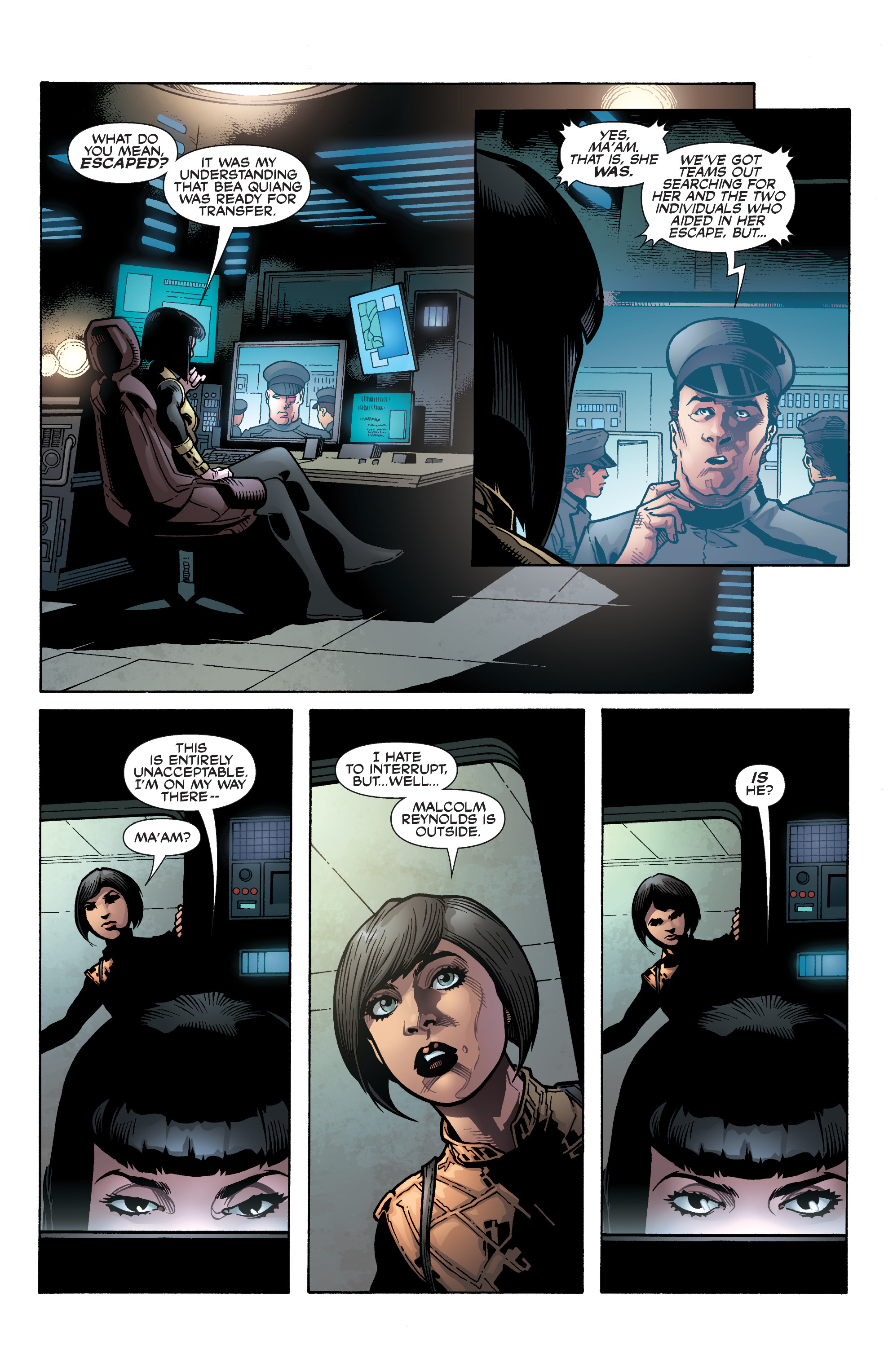 Read online Serenity: Firefly Class 03-K64 – No Power in the 'Verse comic -  Issue #5 - 11