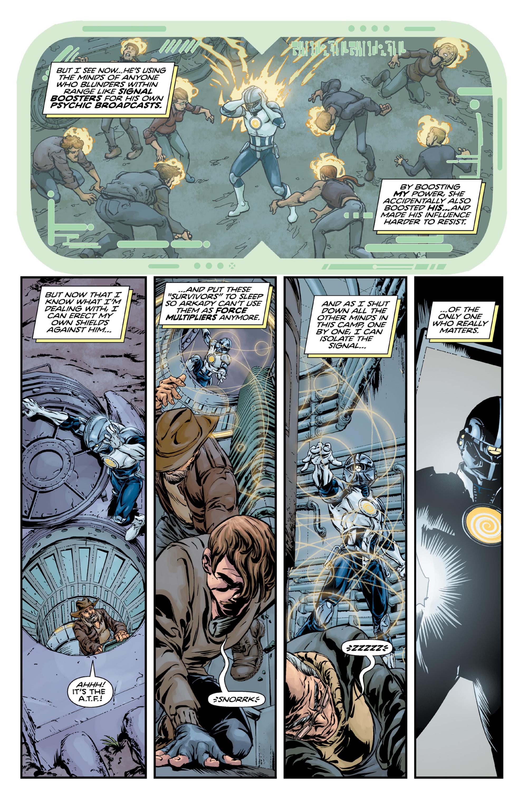 Read online Brain Boy:  The Men from G.E.S.T.A.L.T. comic -  Issue # TPB - 73