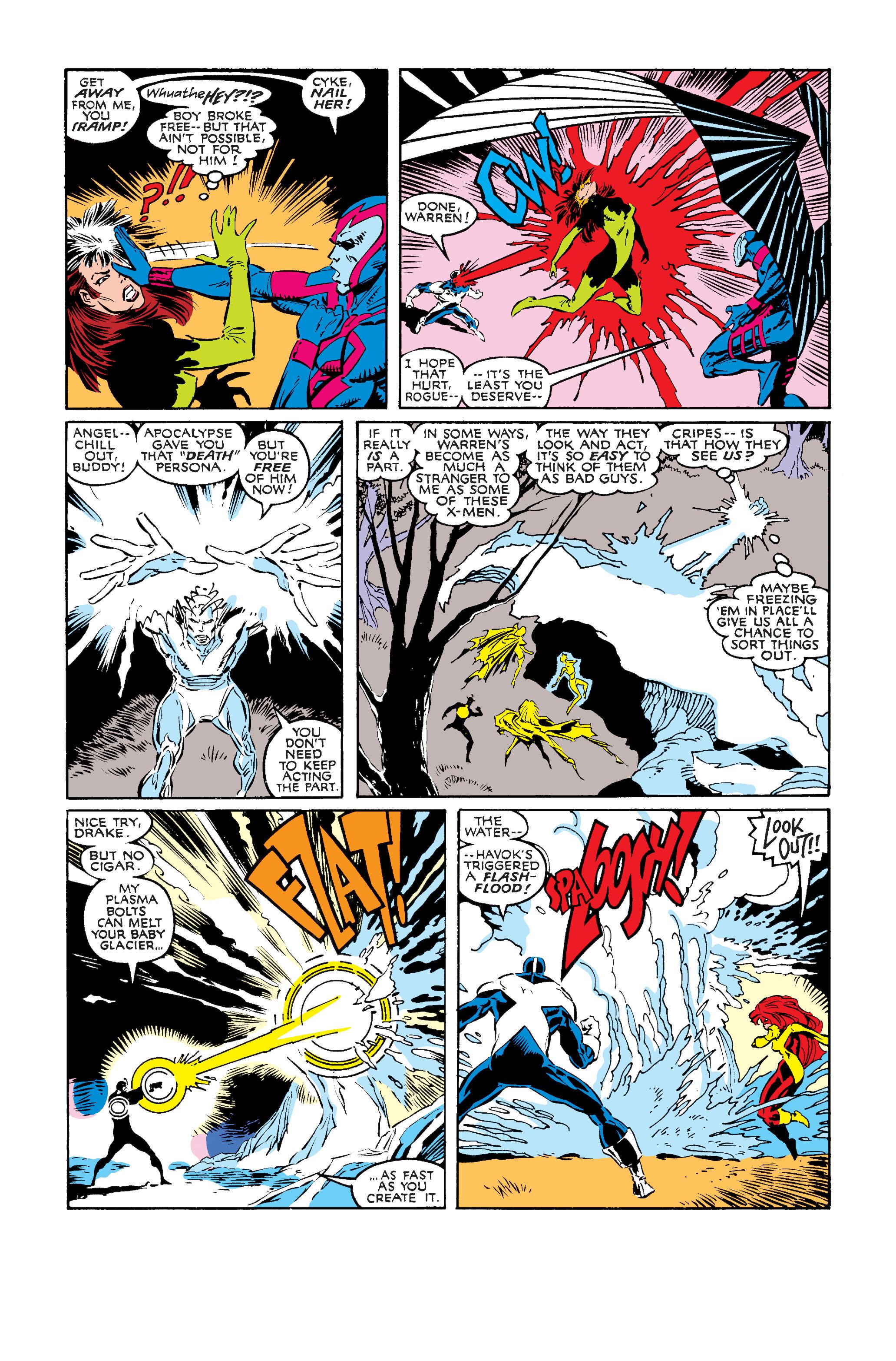 Read online Uncanny X-Men (1963) comic -  Issue #242 - 7