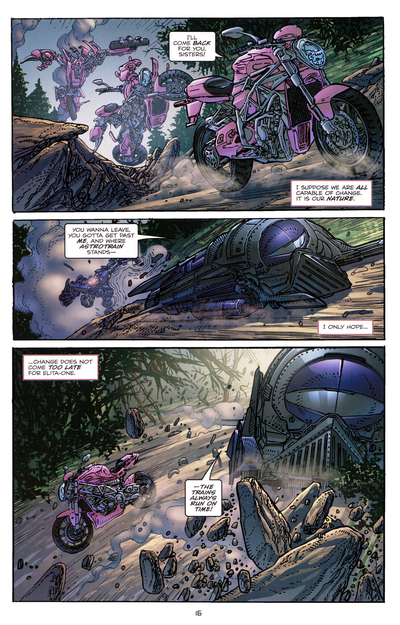 Read online Transformers: Dark of the Moon Rising Storm comic -  Issue #3 - 17