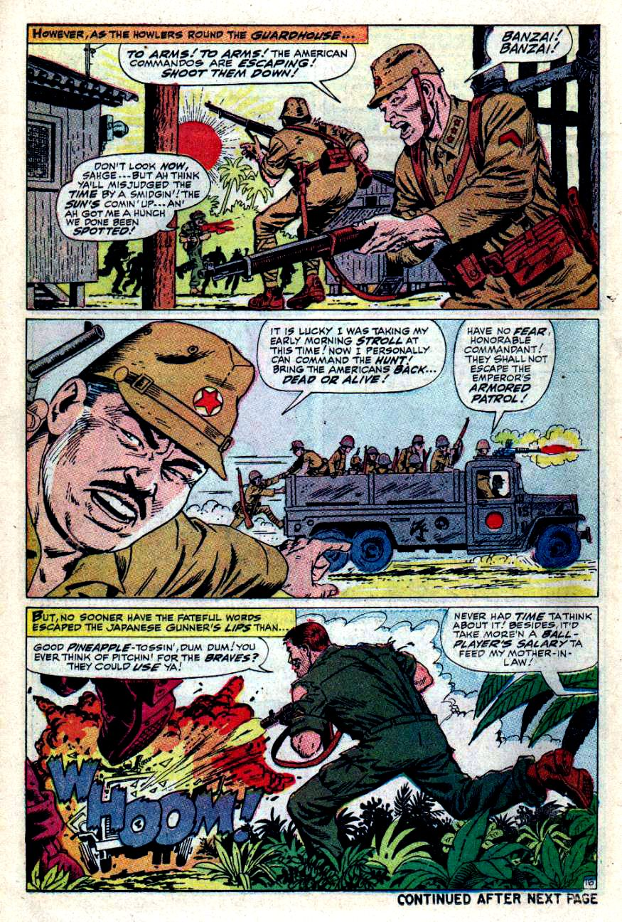 Read online Sgt. Fury comic -  Issue #49 - 22