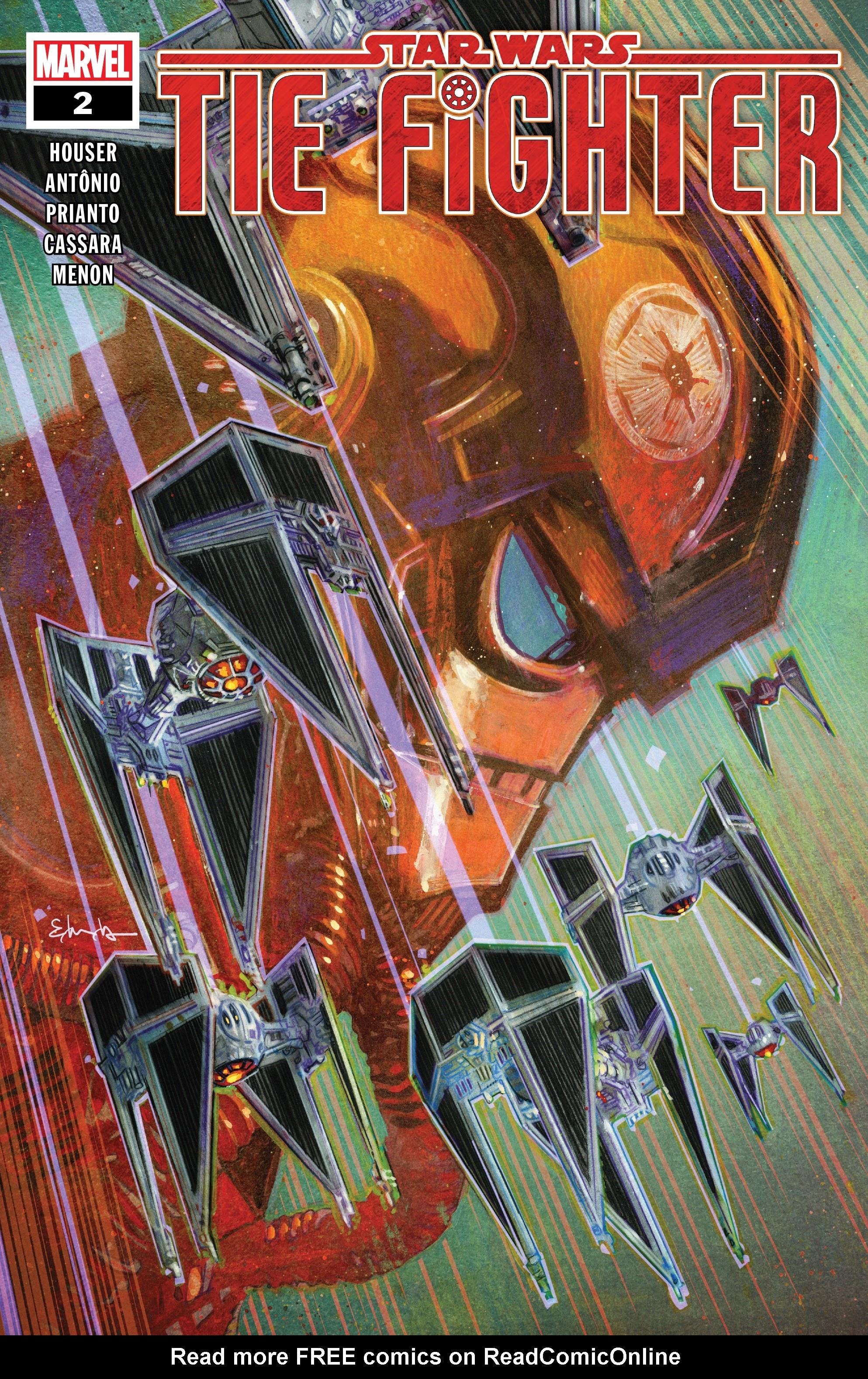 Star Wars: Tie Fighter 2 Page 1