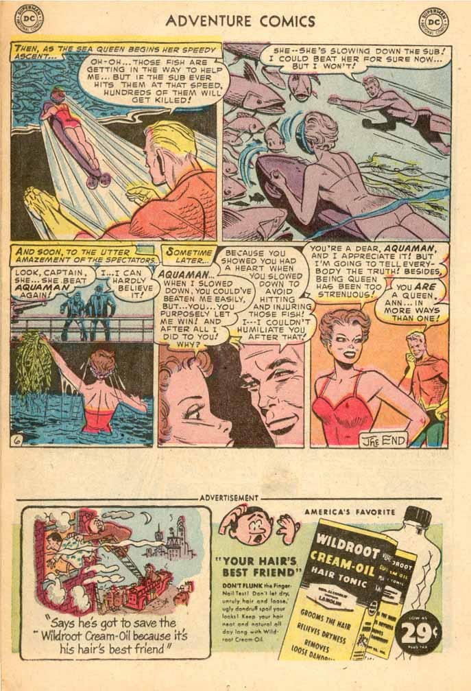 Read online Adventure Comics (1938) comic -  Issue #187 - 22
