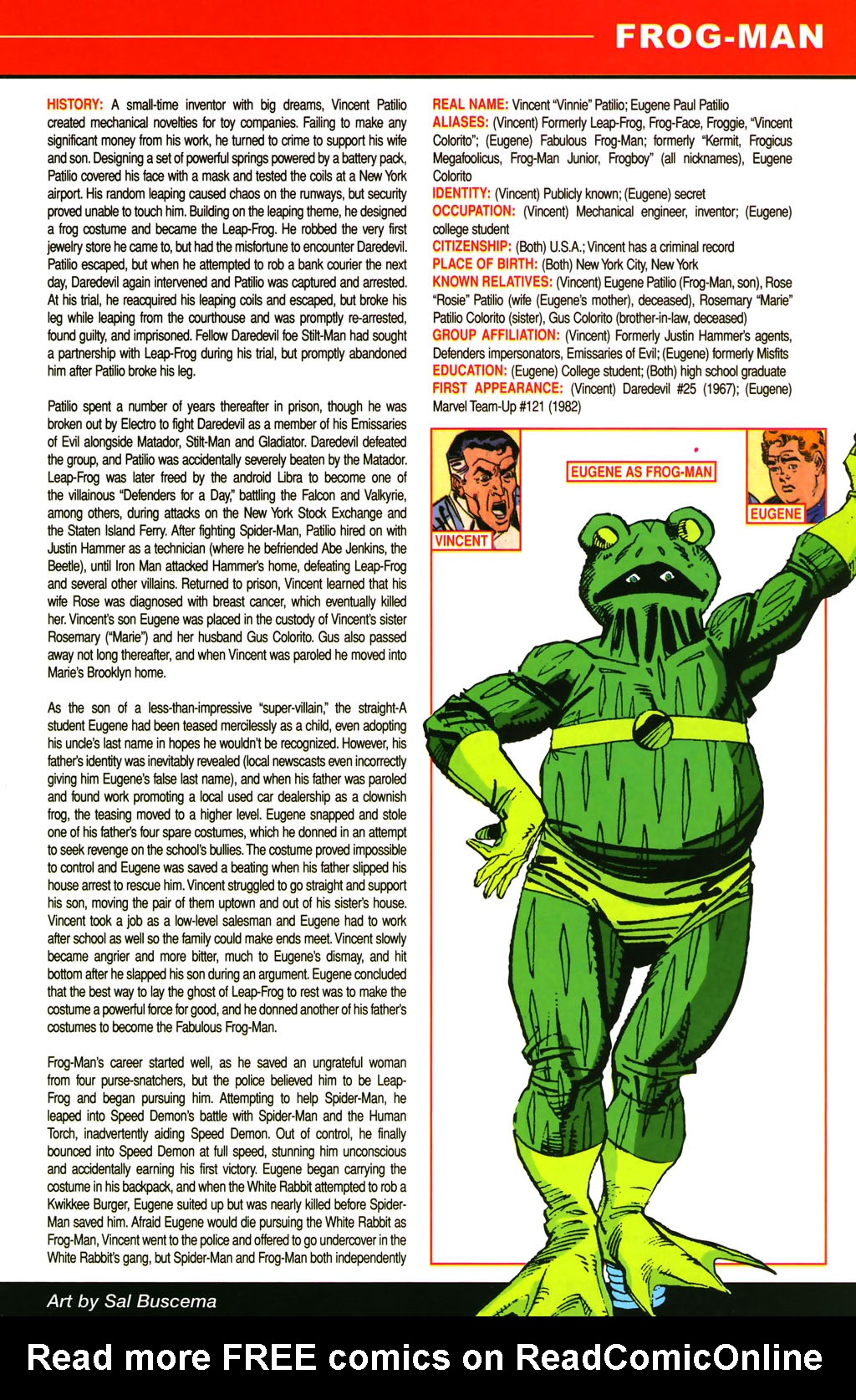 Read online All-New Official Handbook of the Marvel Universe A to Z comic -  Issue #4 - 47