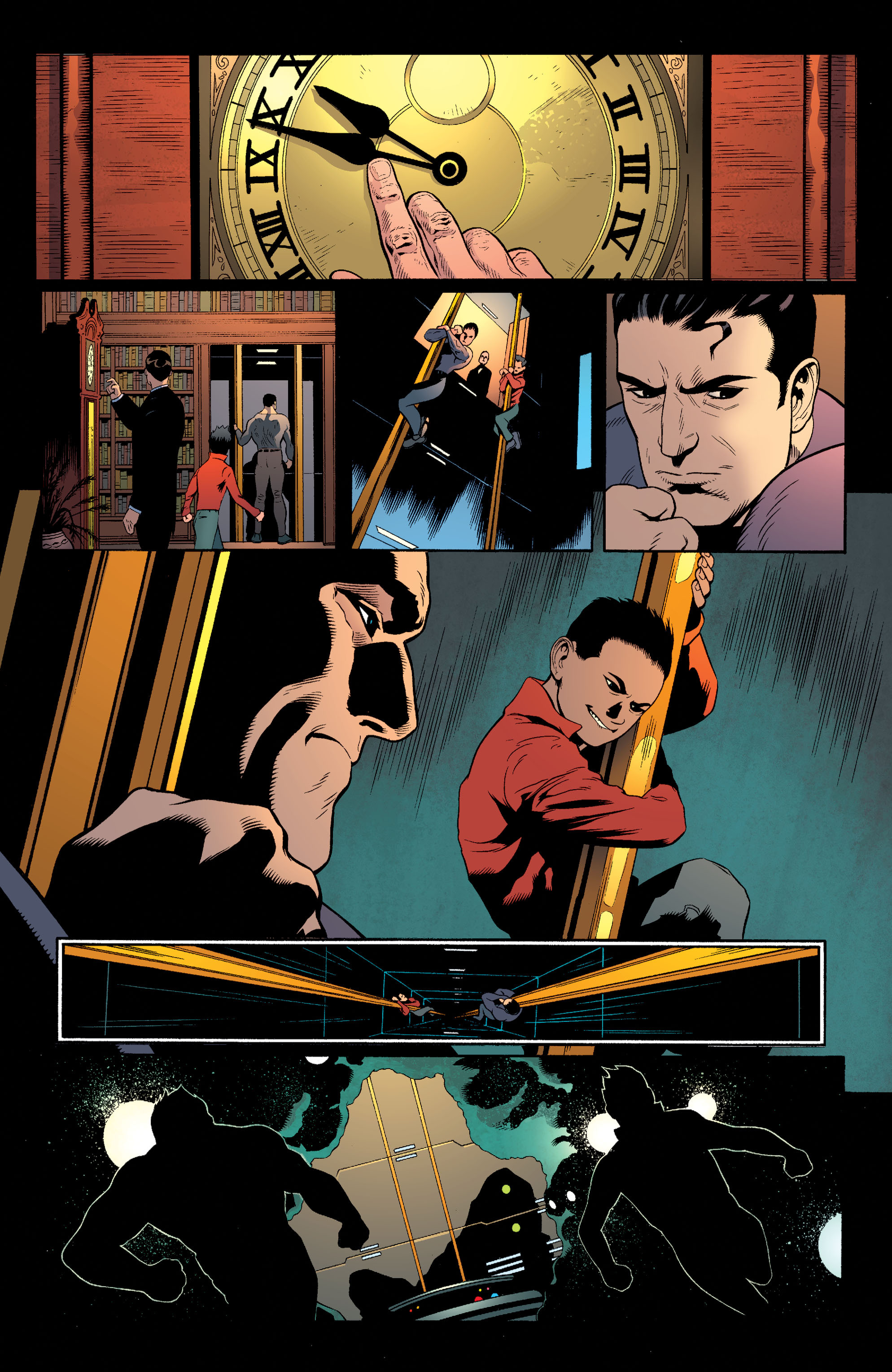Read online Batman and Robin (2011) comic -  Issue #40 - 15