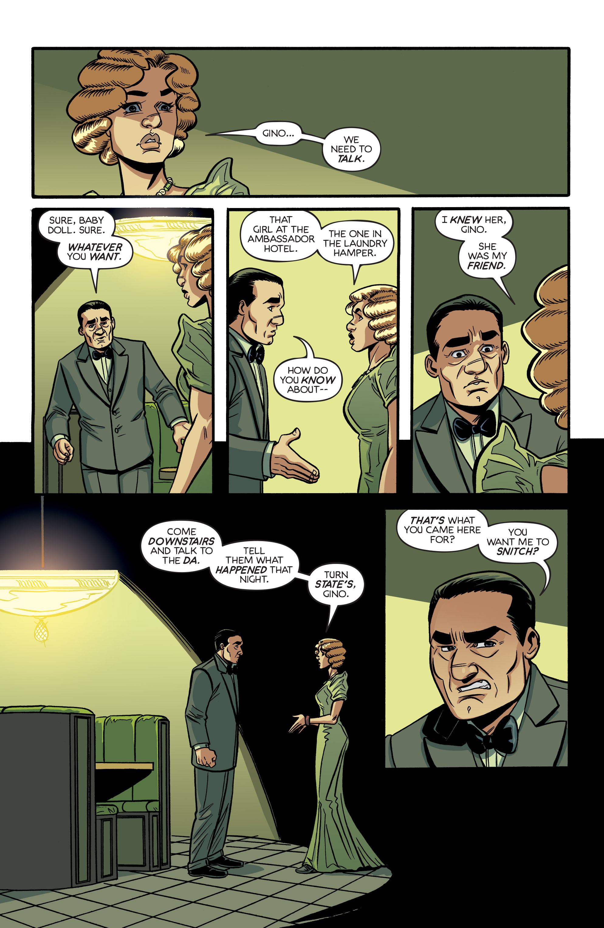 Read online Angel City comic -  Issue #6 - 20