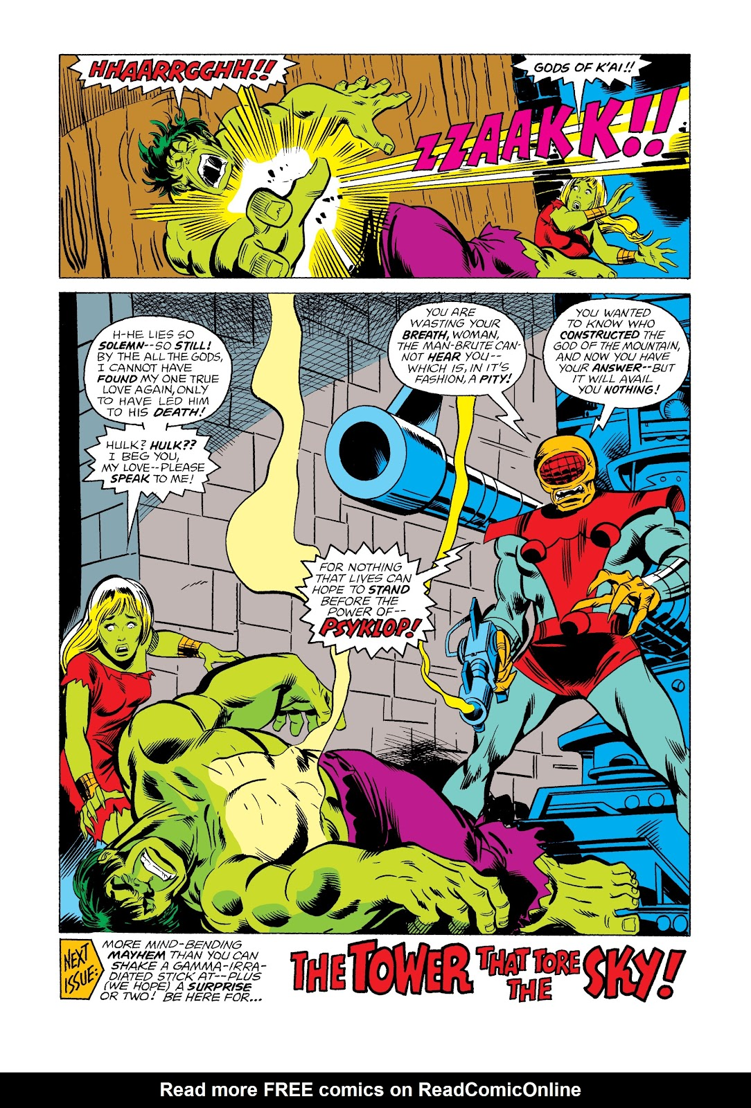 Read online Marvel Masterworks: The Incredible Hulk comic -  Issue # TPB 12 (Part 2) - 54