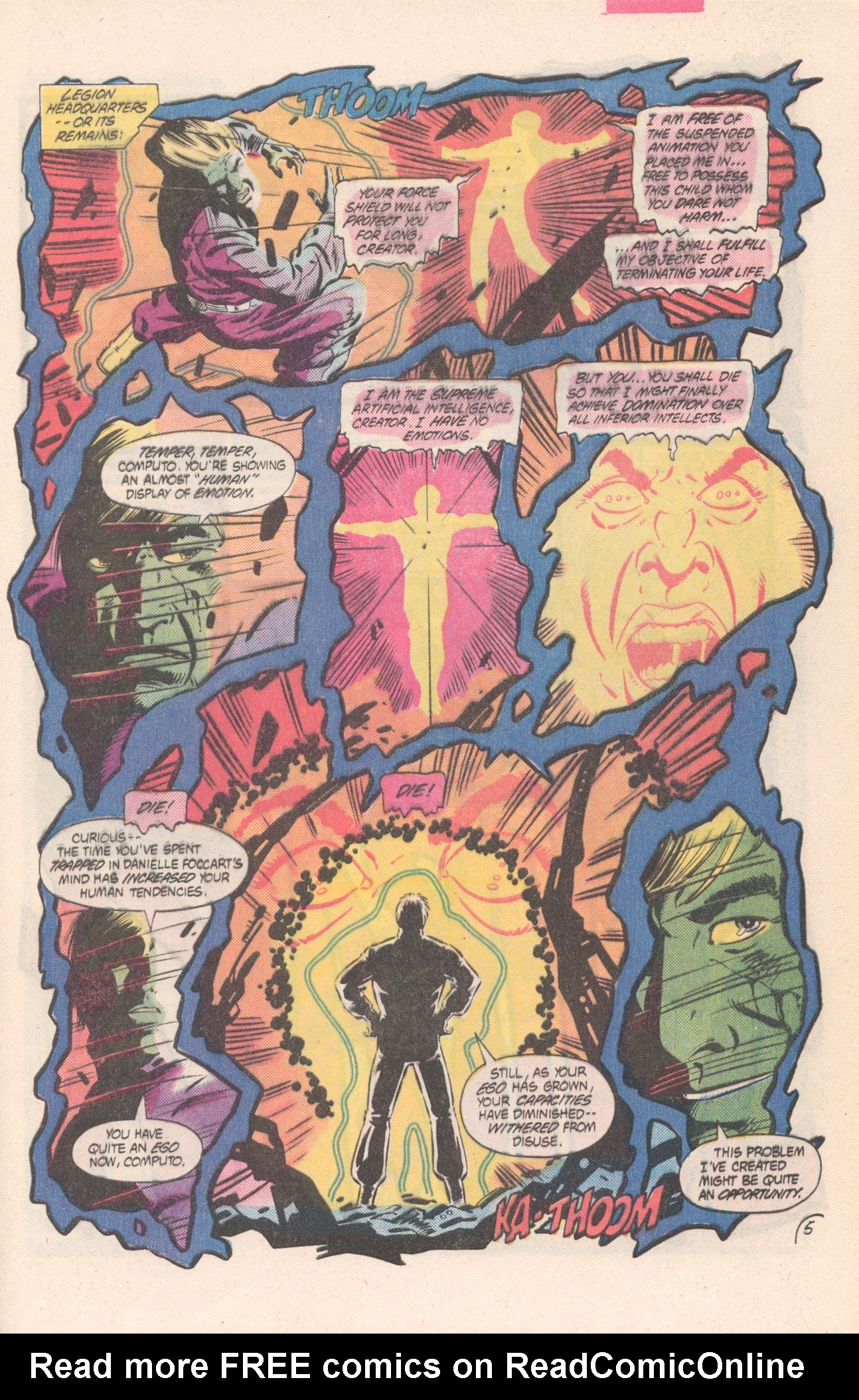 Legion of Super-Heroes (1980) 311 Page 5
