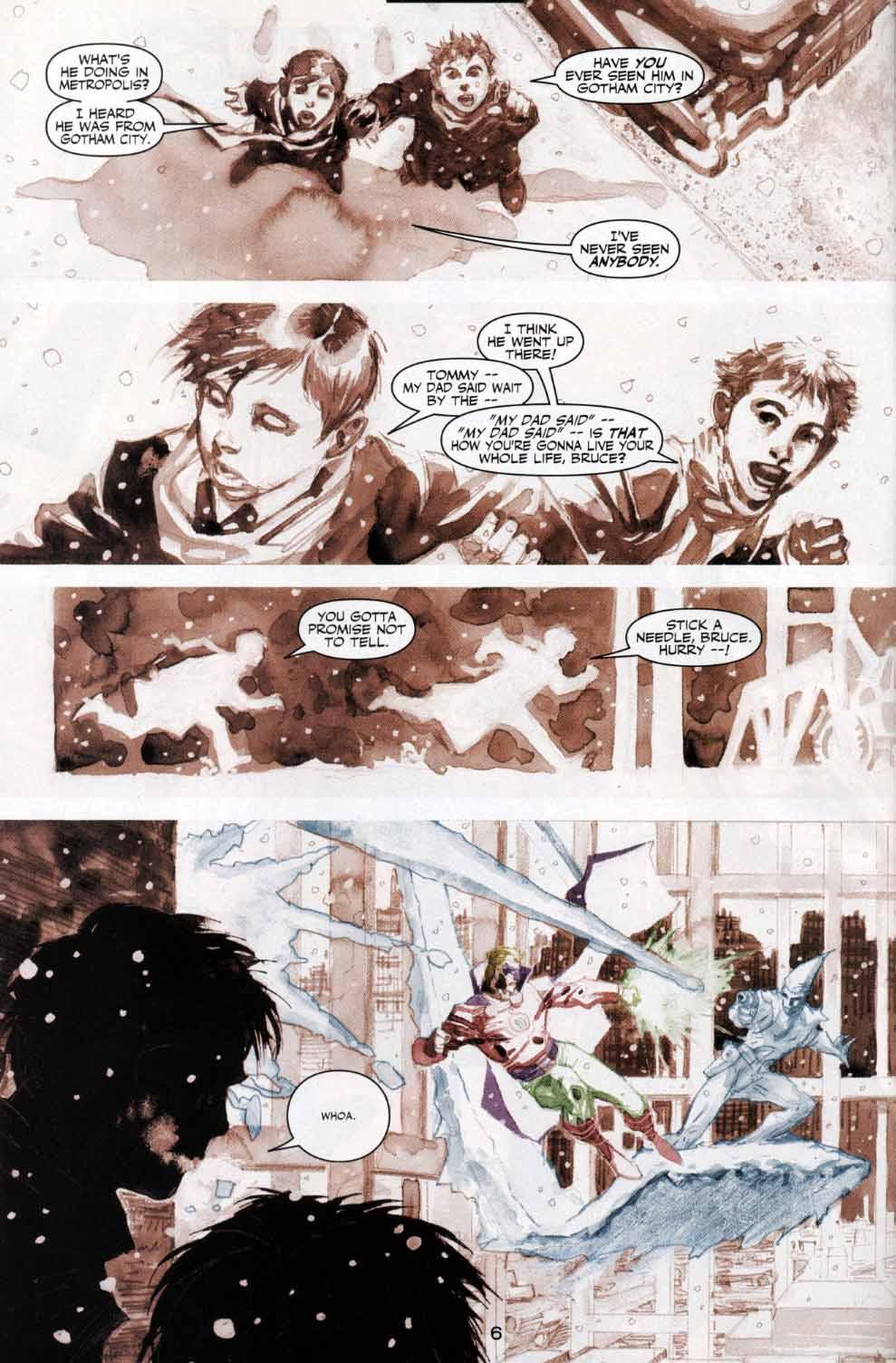 Read online Batman: Hush comic -  Issue #4 - 6