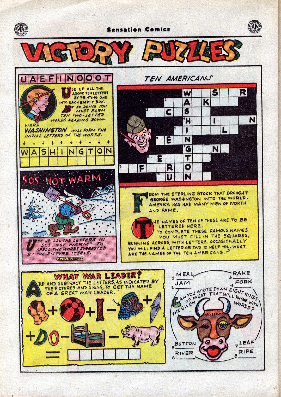 Read online Sensation (Mystery) Comics comic -  Issue #44 - 34