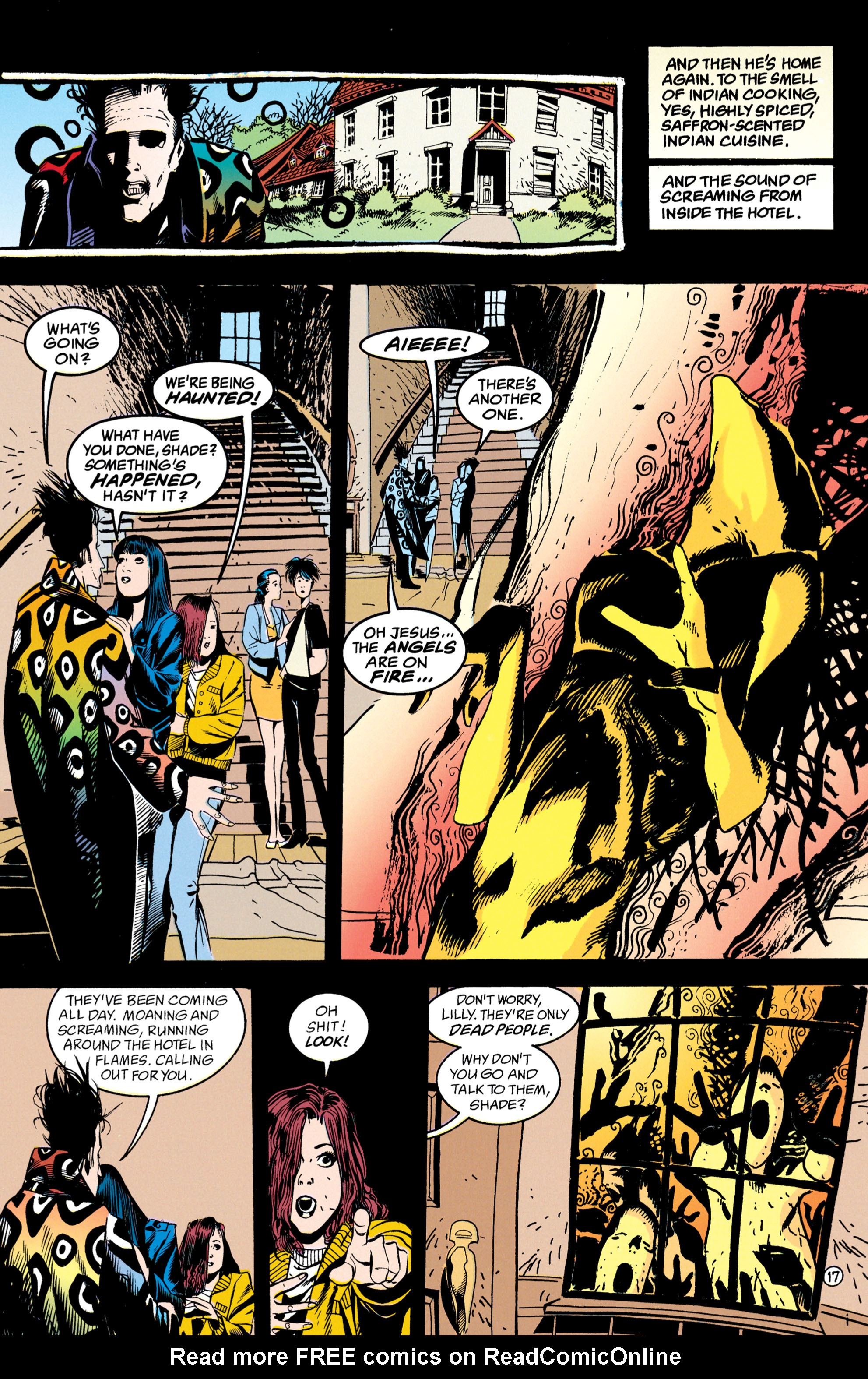 Read online Shade, the Changing Man comic -  Issue #50 - 18