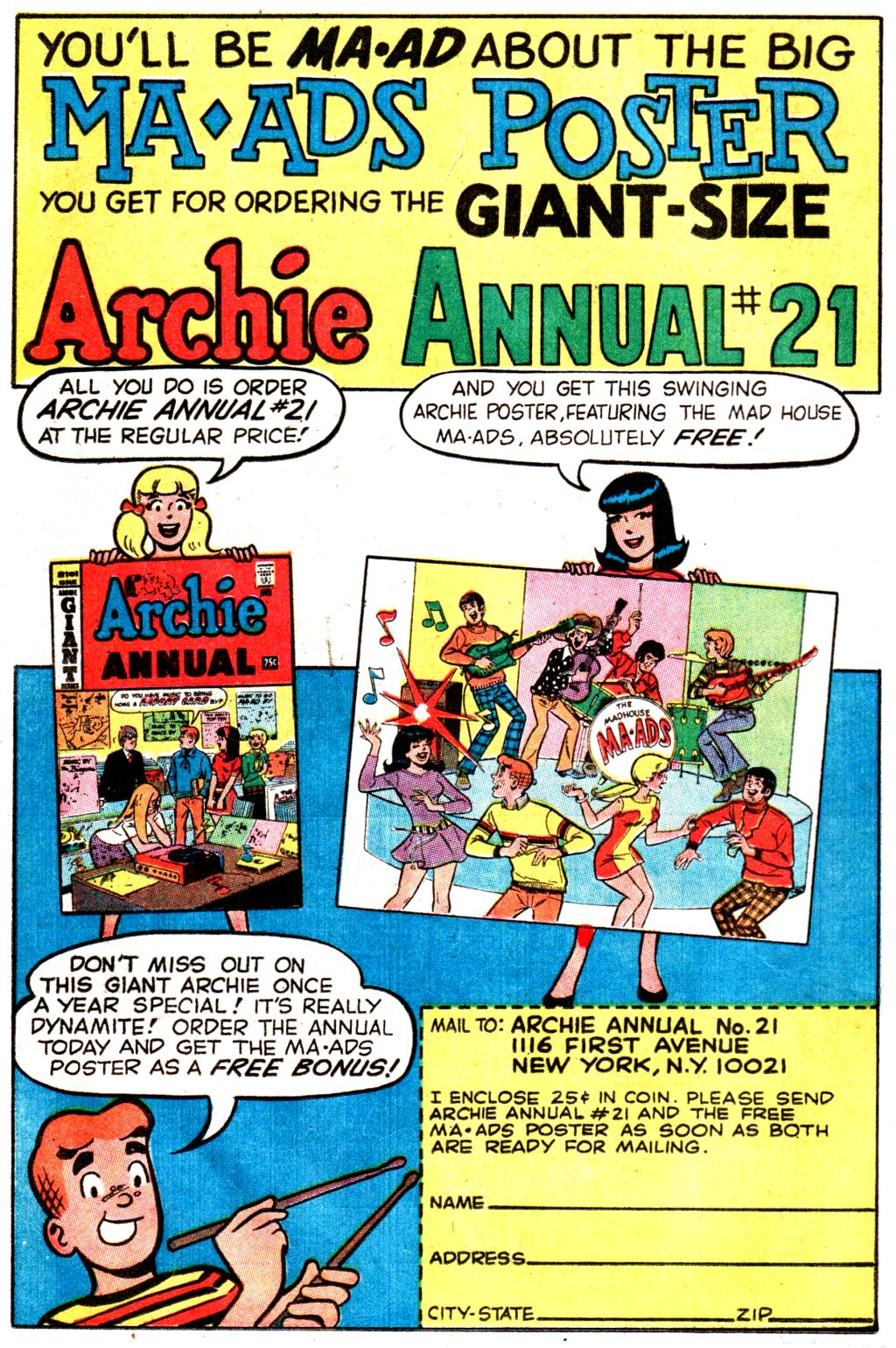 Read online Archie (1960) comic -  Issue #192 - 12