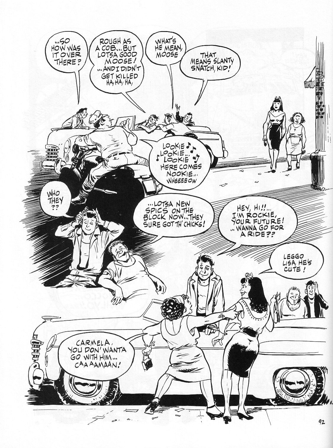 Read online Dropsie Avenue, The Neighborhood comic -  Issue # Full - 94