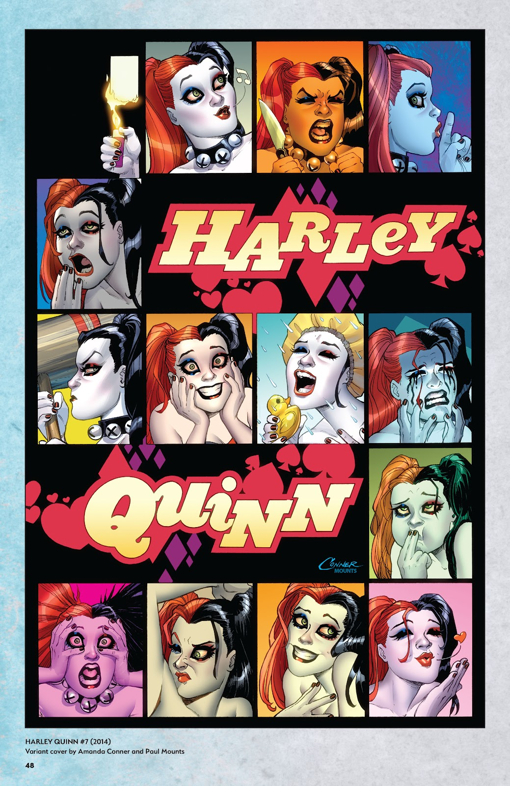 Read online Harley Quinn: A Rogue's Gallery―The Deluxe Cover Art Collection comic -  Issue # TPB (Part 1) - 46