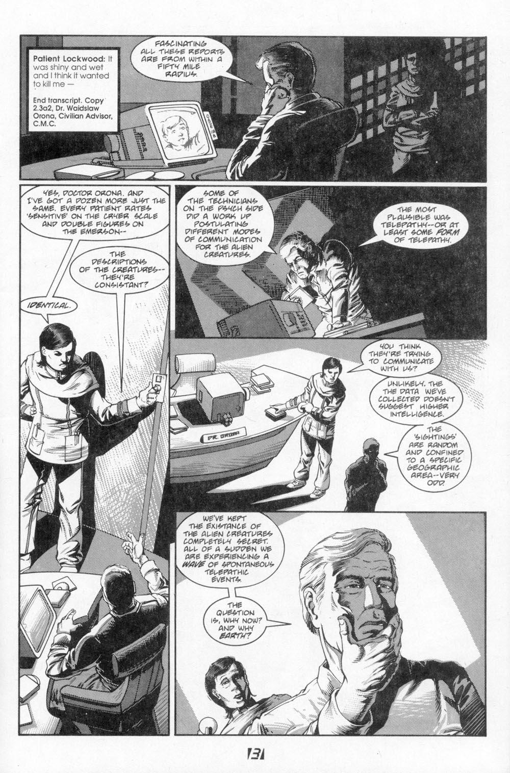 Read online Aliens (1988) comic -  Issue #3 - 7