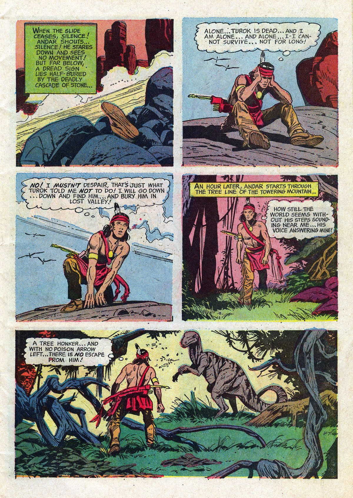 Read online Turok, Son of Stone comic -  Issue #61 - 7